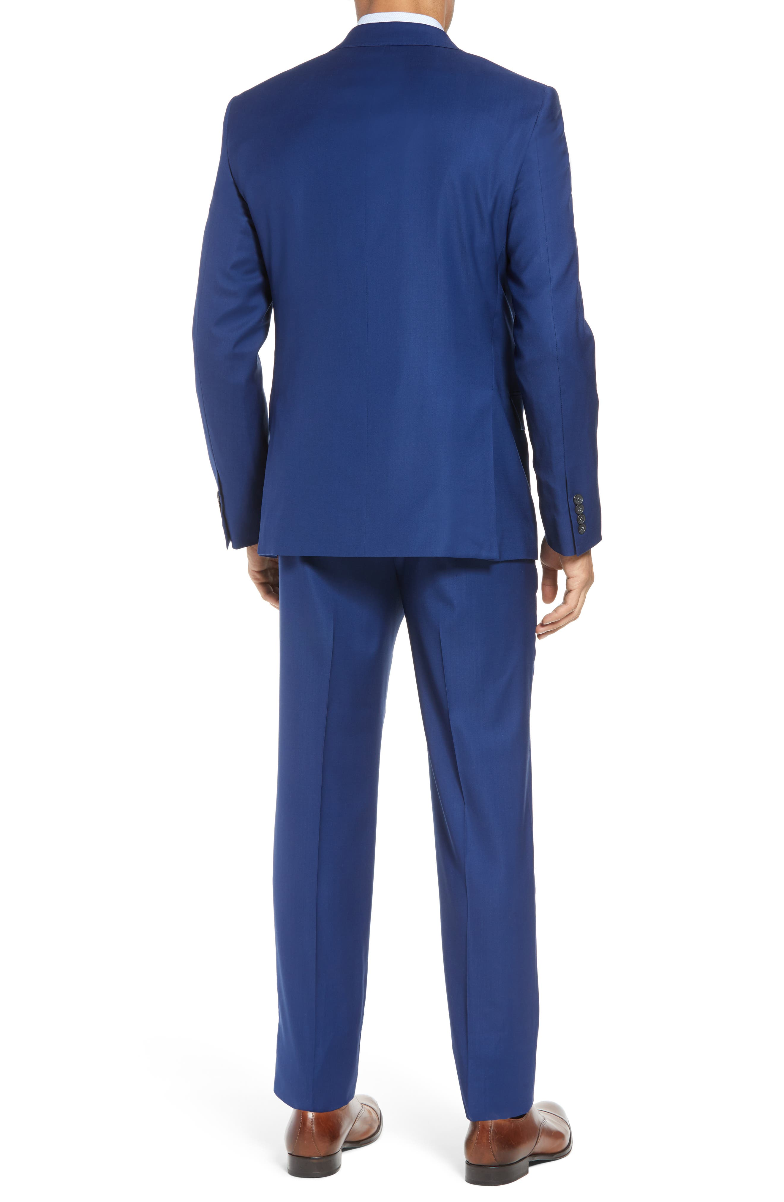 Bennet Classic Fit Solid Wool Suit,                             Alternate thumbnail 2, color,                             High Blue