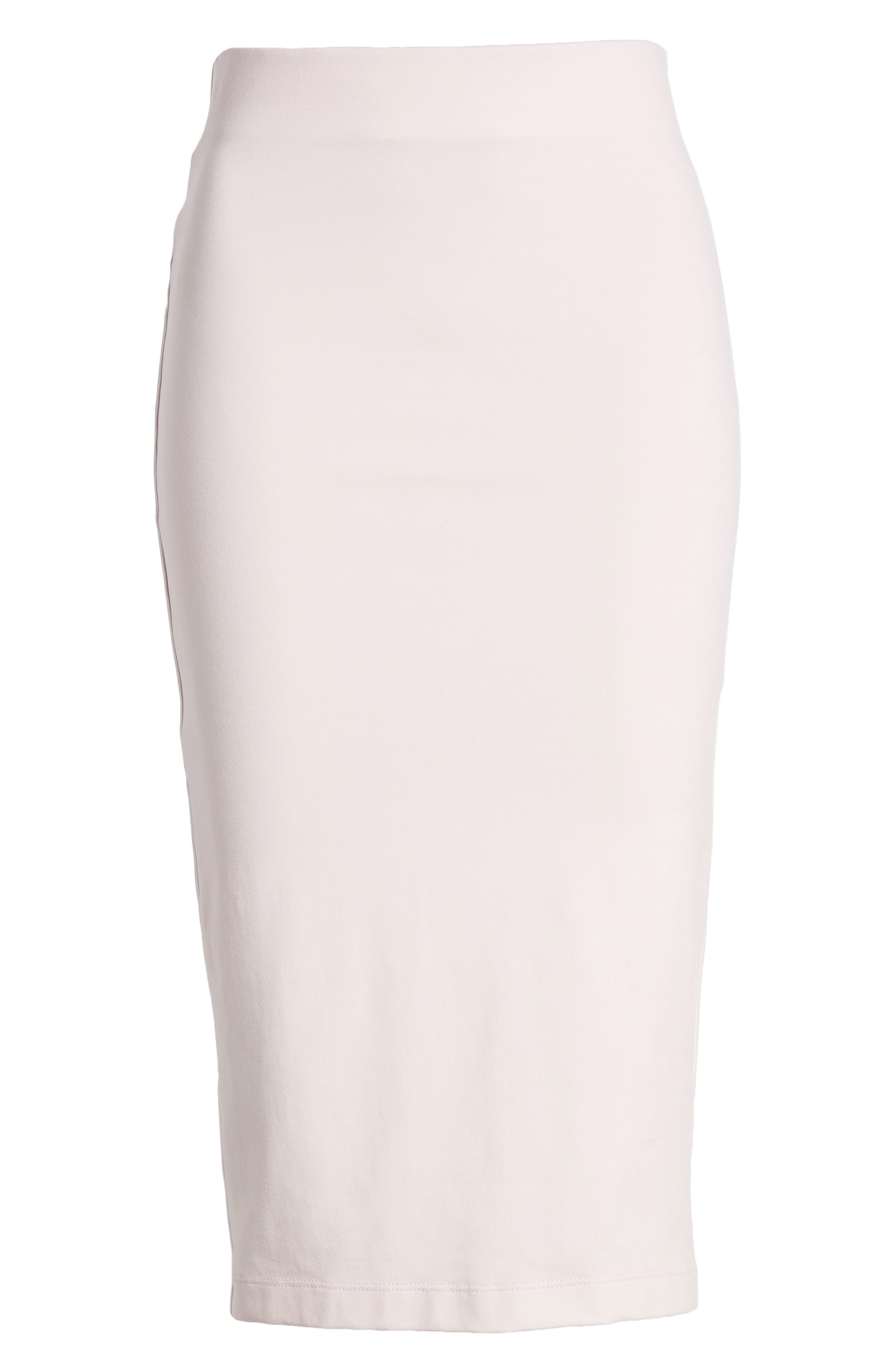 Tube High Rise Pencil Skirt,                             Alternate thumbnail 6, color,                             Soft Pink