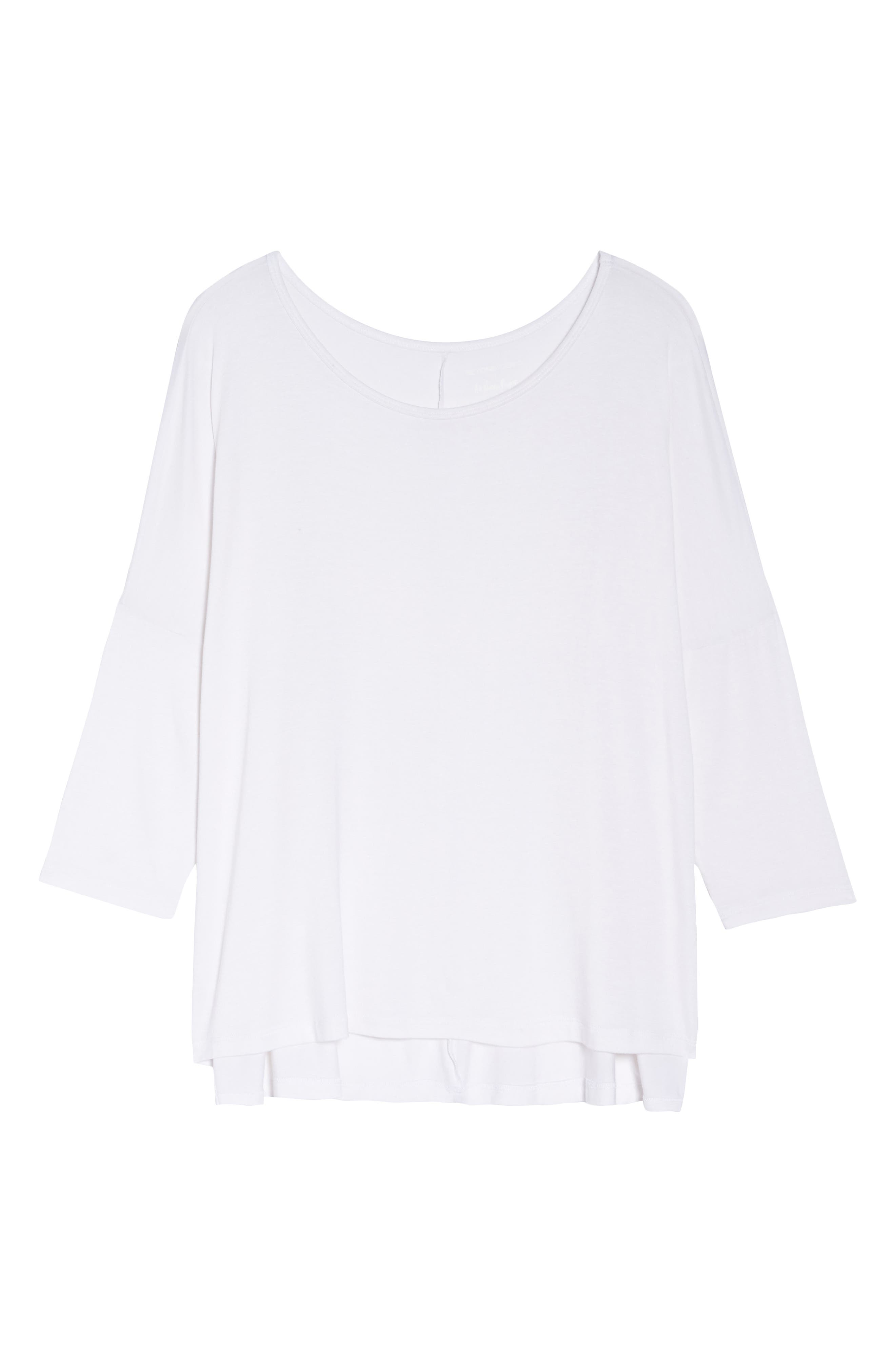 Slink It Boxy Pullover,                             Alternate thumbnail 6, color,                             White