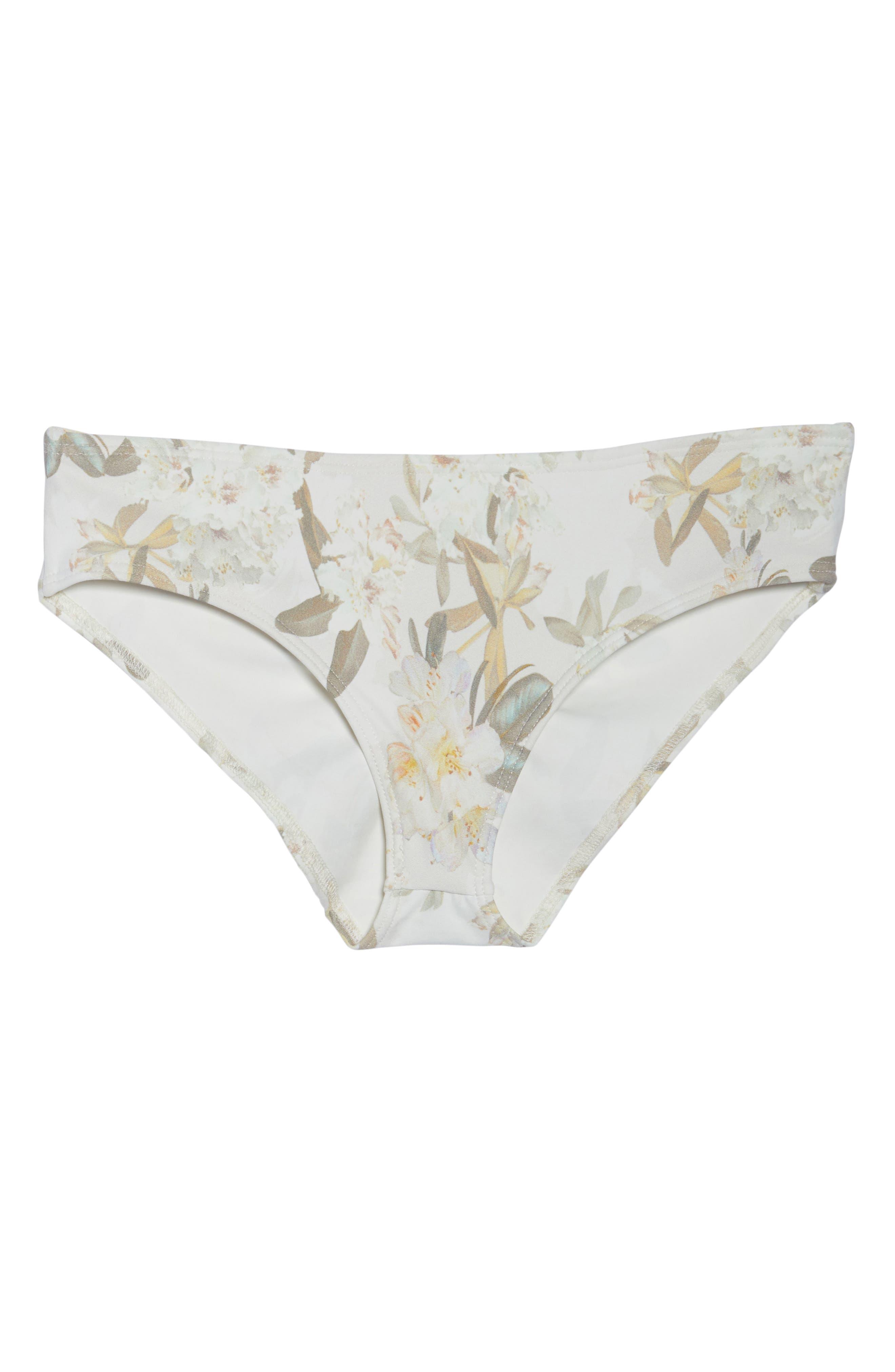 AC Nu Micro Bikini Bottoms,                             Alternate thumbnail 9, color,                             Ete Floral White