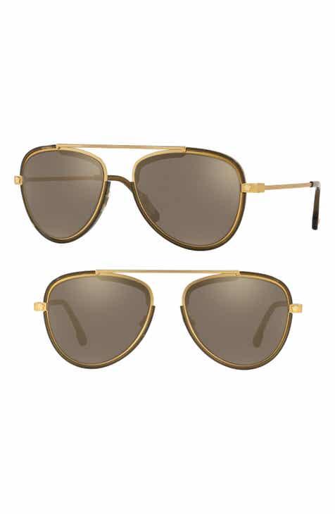 6e09cf58e20 Versace Medusa 56mm Aviator Sunglasses