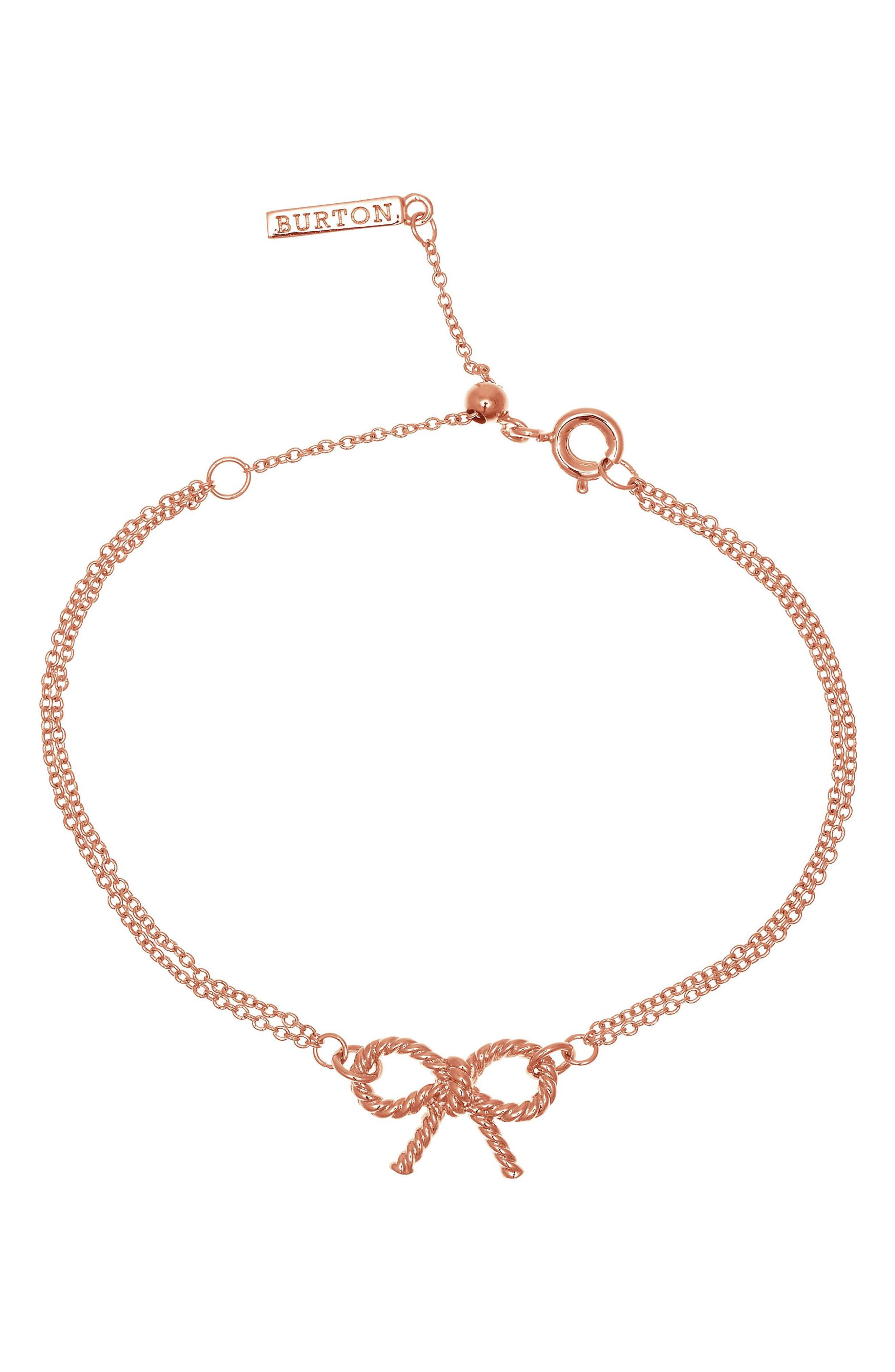 Olivia Burton Vintage Bow Chain Bracelet