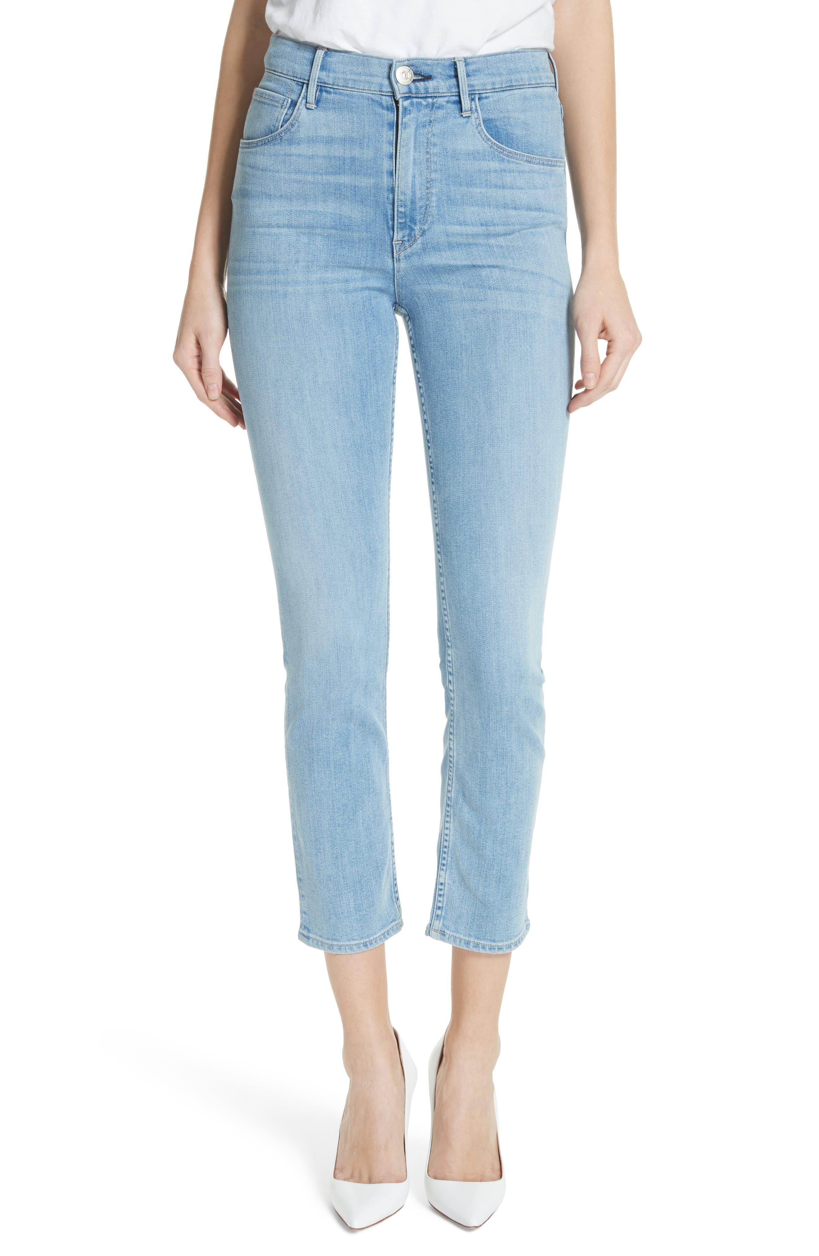 W4 Colette Crop Skinny Jeans,                         Main,                         color, Carlo