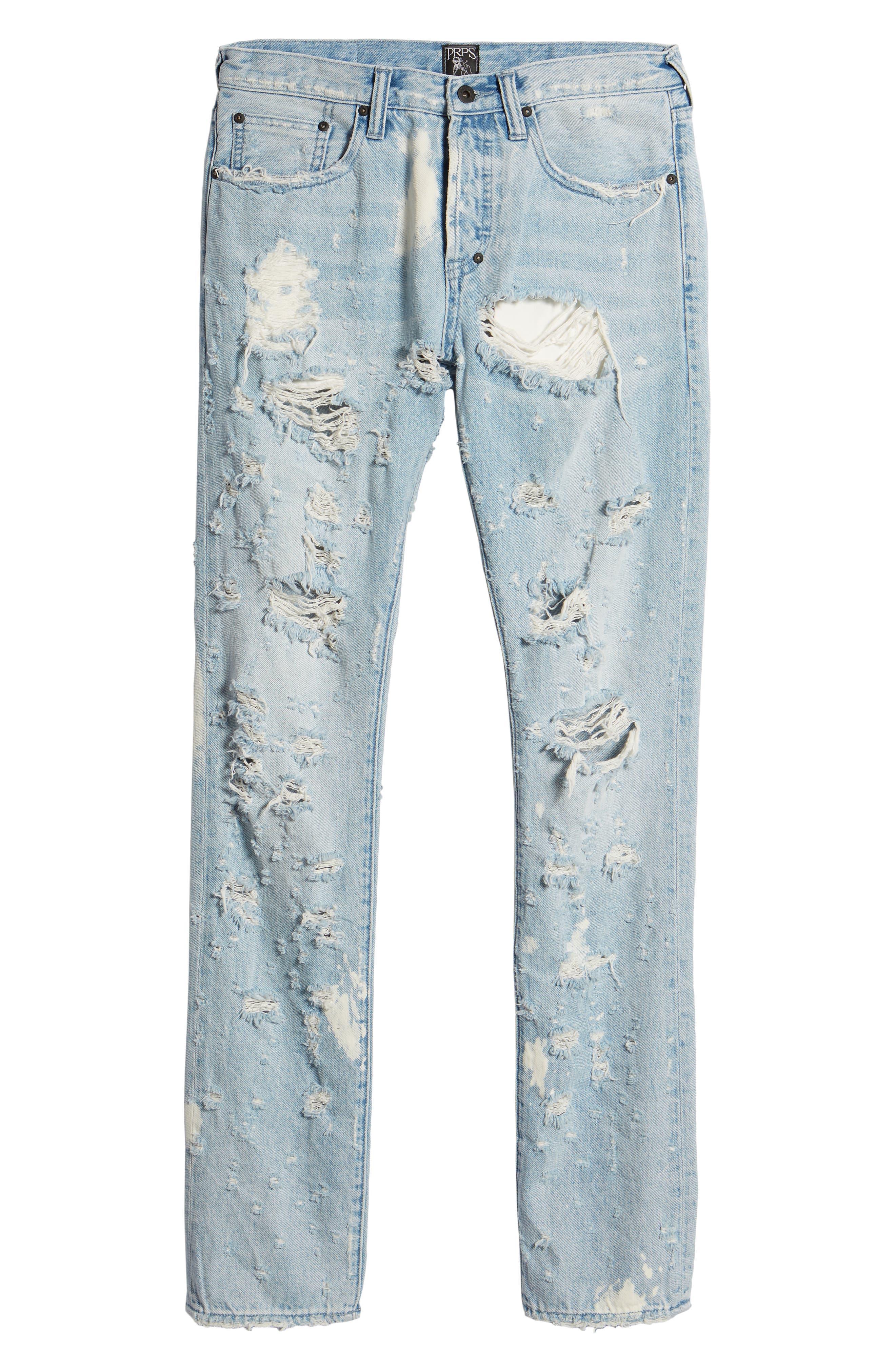 Le Sabre Slim Fit Jeans,                             Alternate thumbnail 6, color,                             Lavish