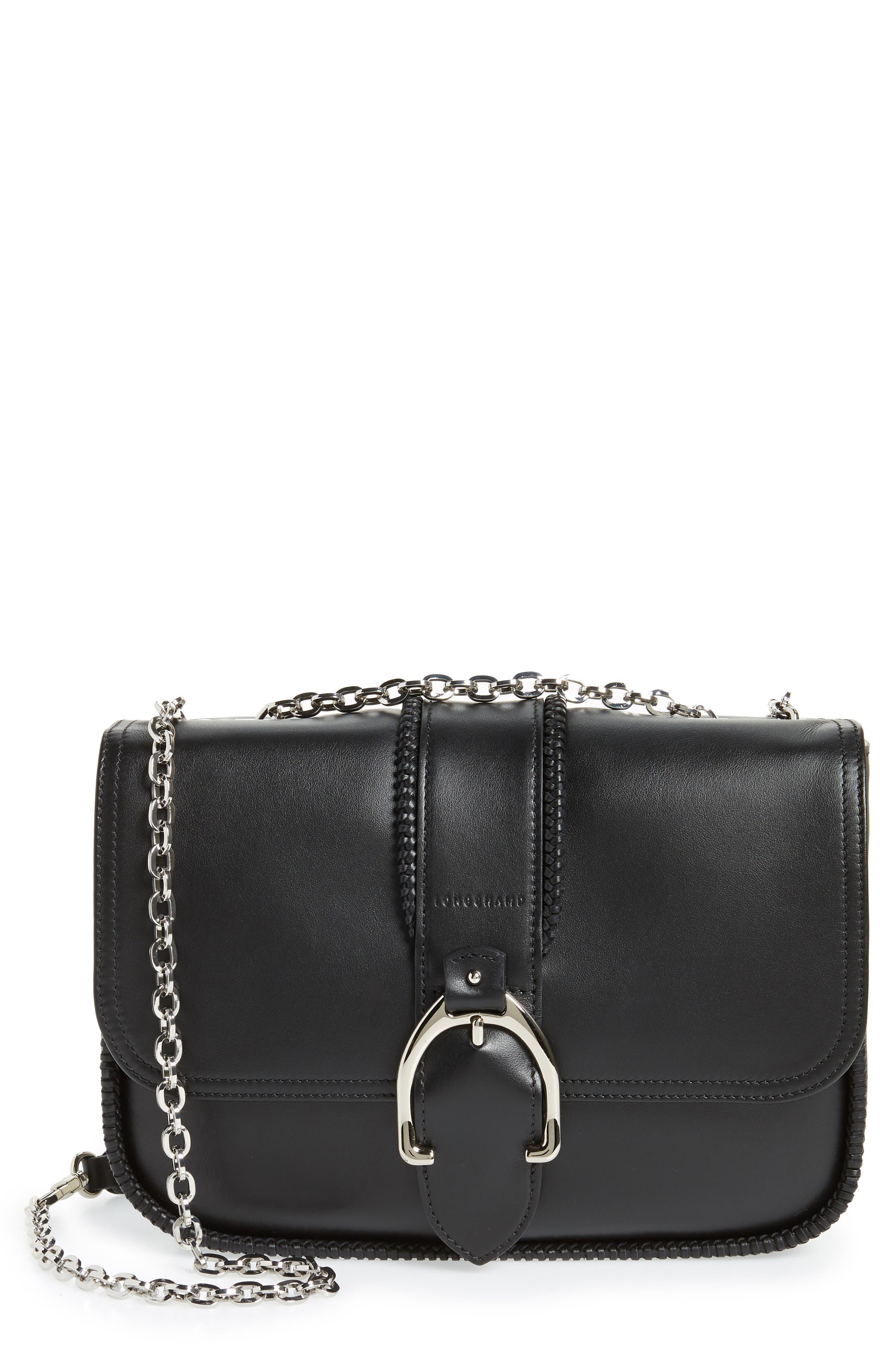Longchamp Small Leather Crossbody Bag