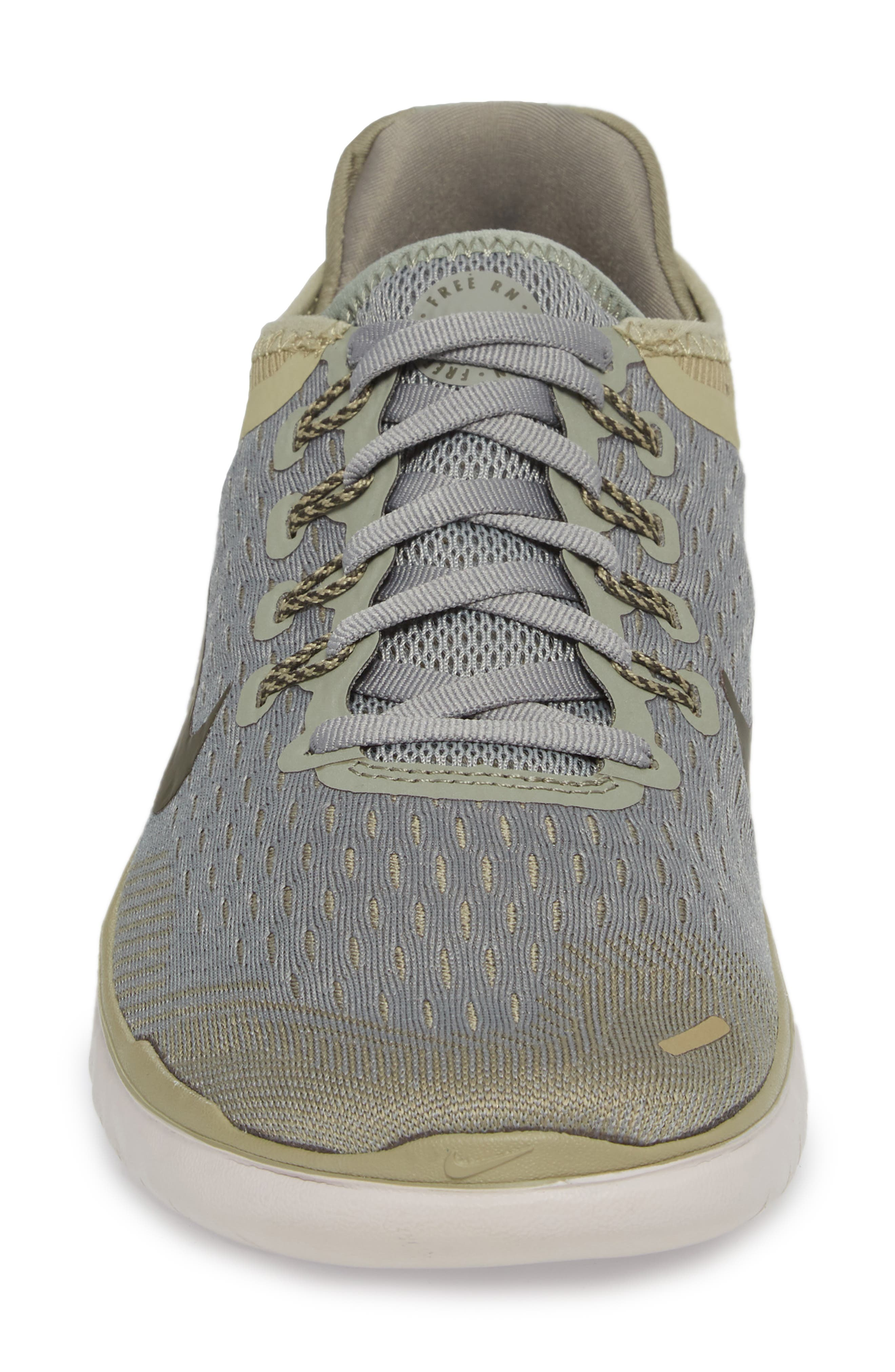 Free RN 2018 Running Shoe,                             Alternate thumbnail 4, color,                             Dark Stucco/ Cargo Khaki