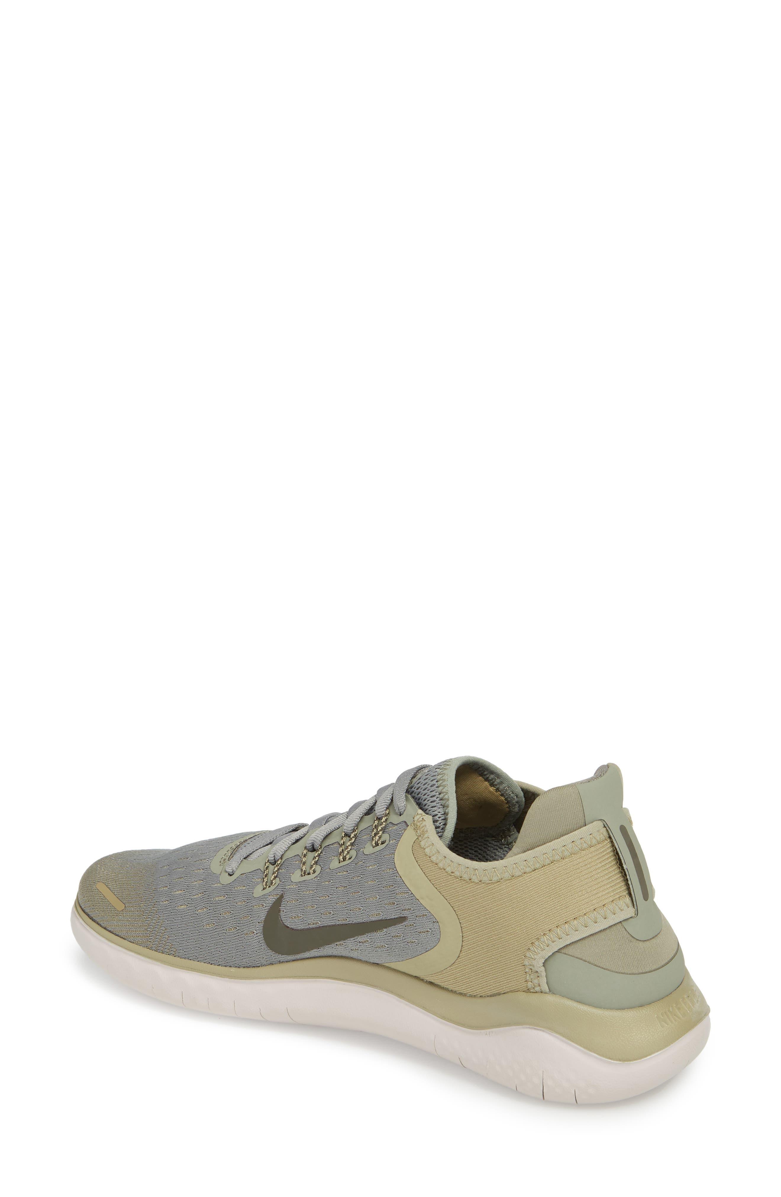 Free RN 2018 Running Shoe,                             Alternate thumbnail 2, color,                             Dark Stucco/ Cargo Khaki