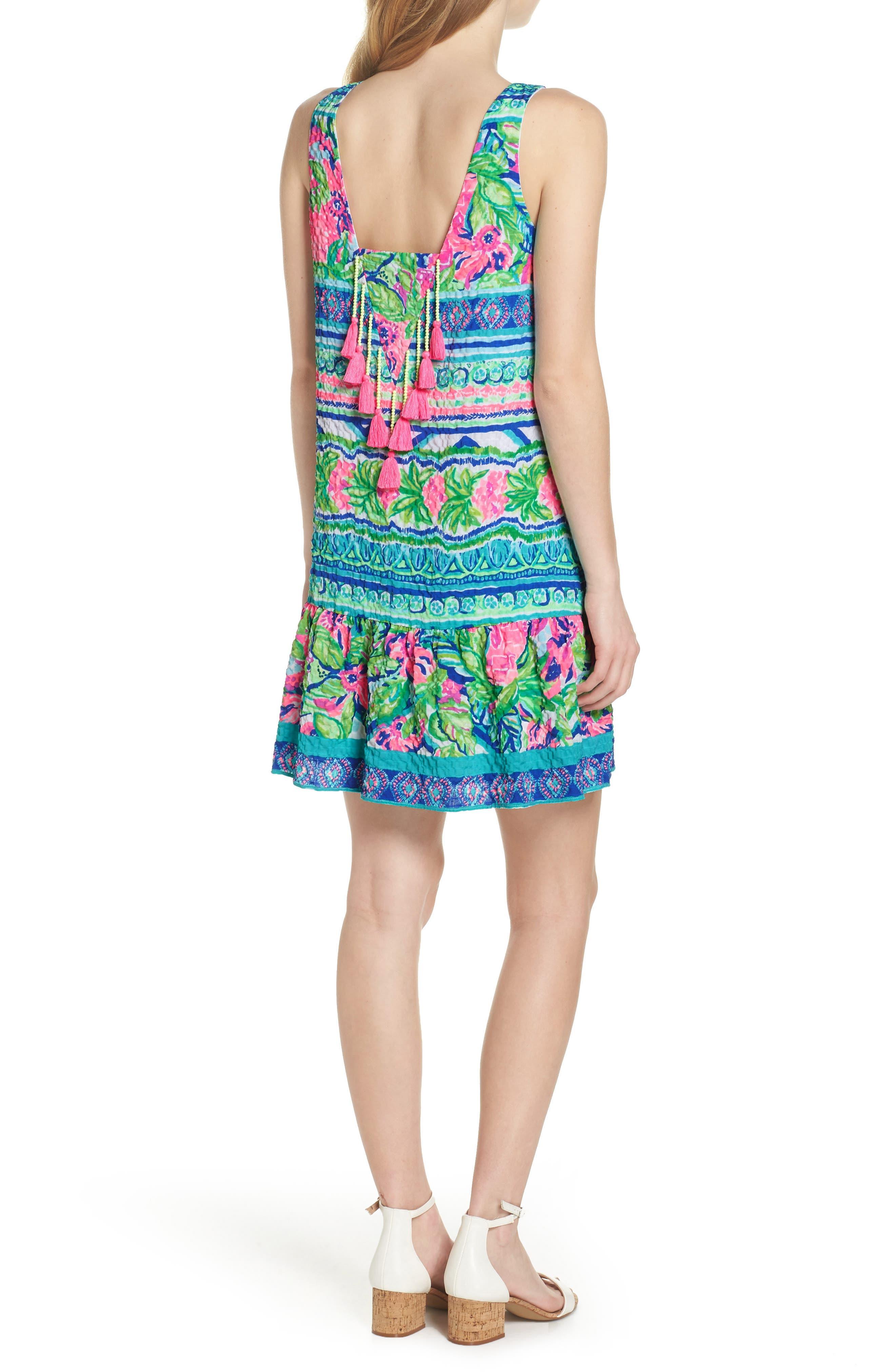 Lilly Pulitzer Gabriella Dress,                             Alternate thumbnail 2, color,                             Multi Daquiri Shack