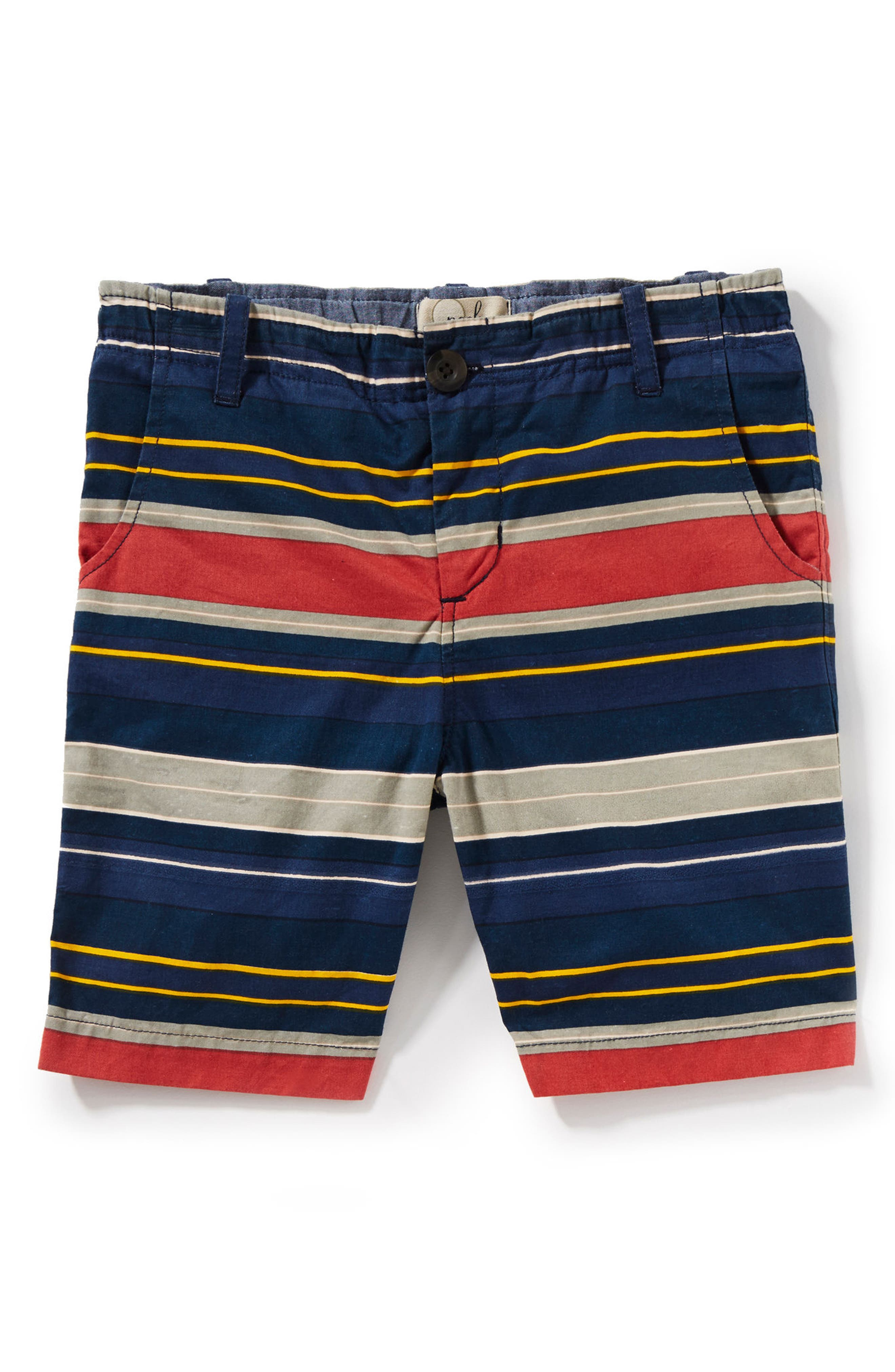 Hudson Stripe Shorts,                             Main thumbnail 1, color,                             Navy