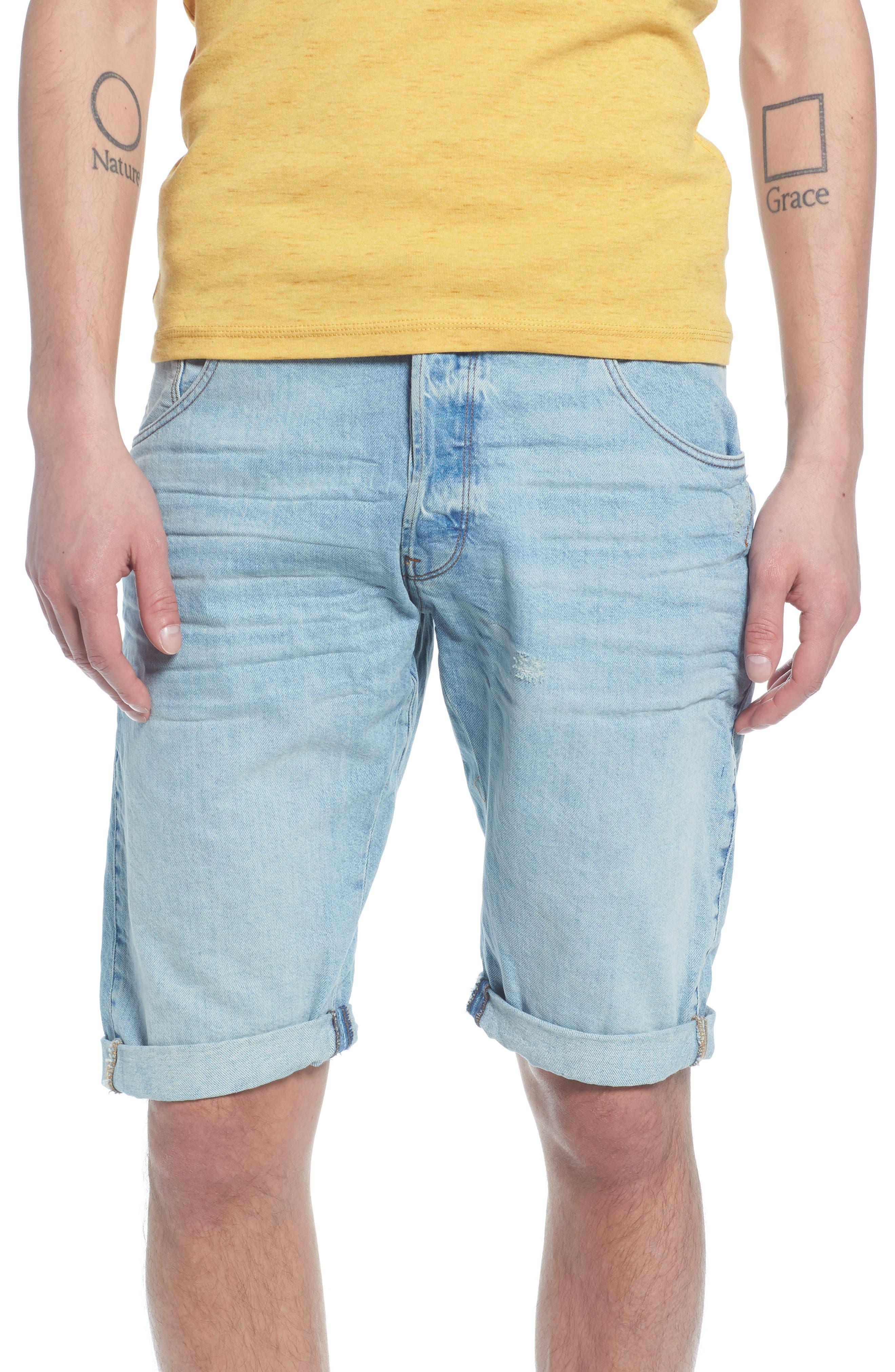 Arc 3D Shorts,                             Main thumbnail 1, color,                             Light Aged Blue