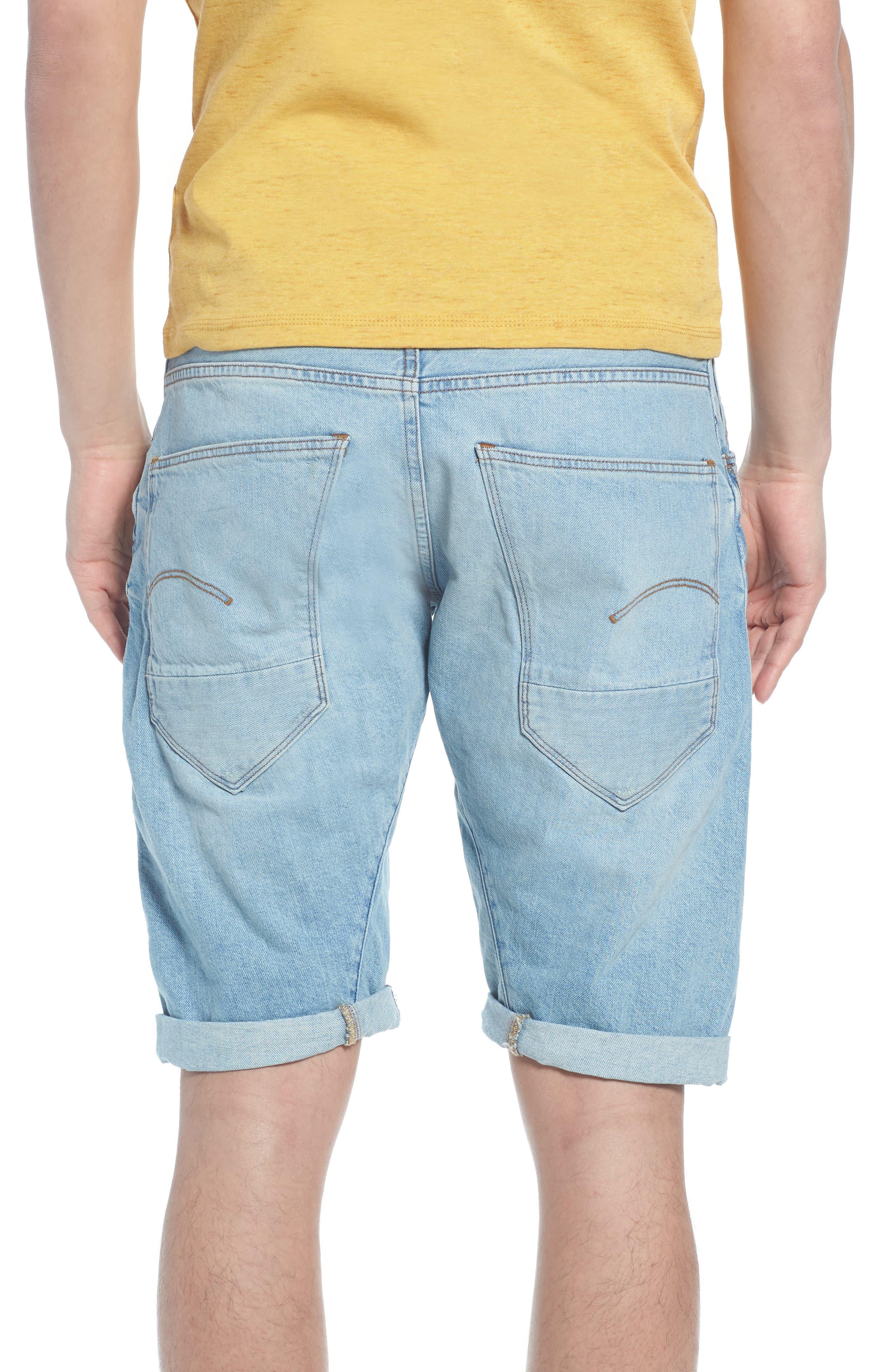 Arc 3D Shorts,                             Alternate thumbnail 2, color,                             Light Aged Blue