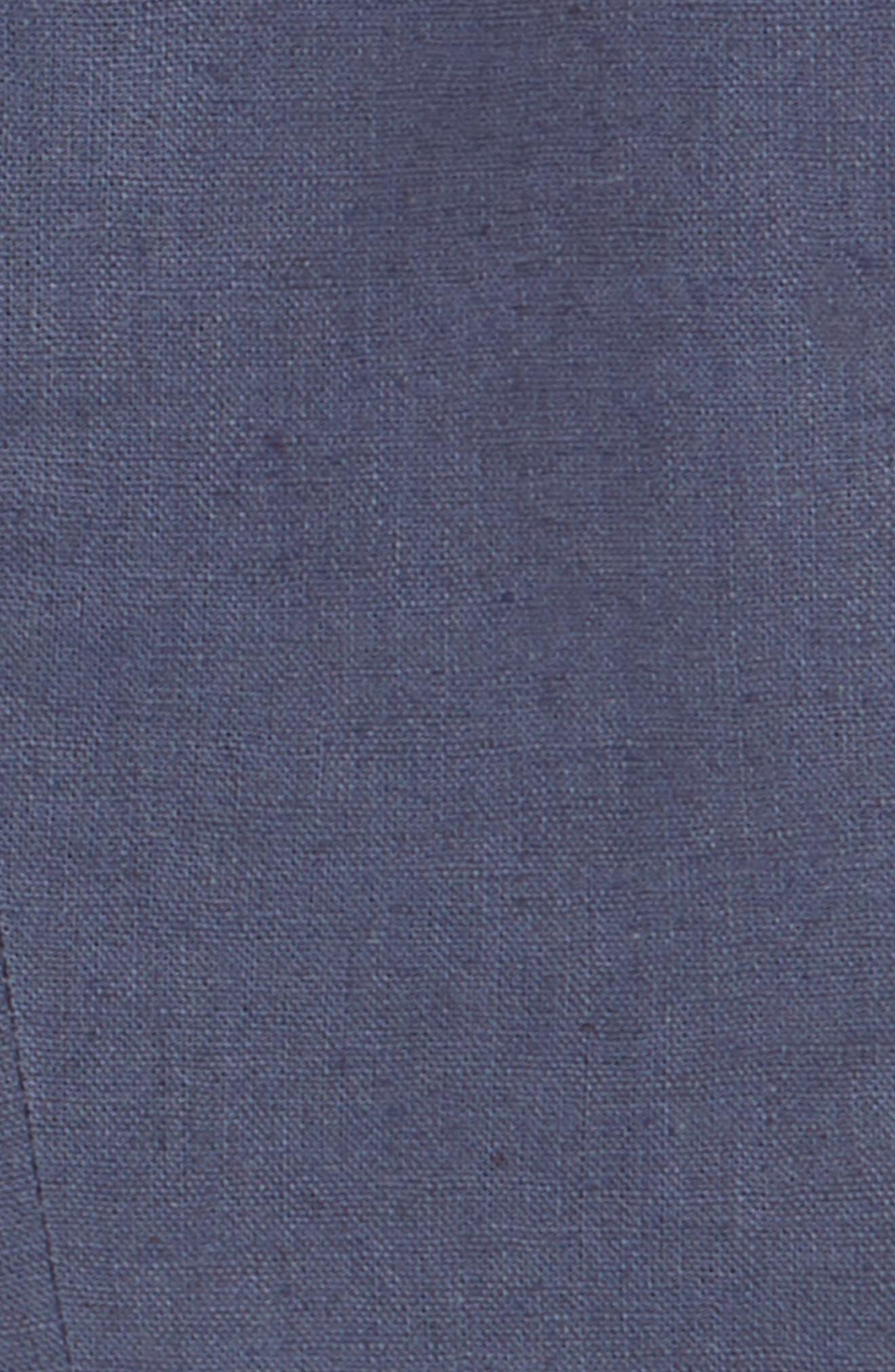 Two-Piece Fashion Linen Suit,                             Alternate thumbnail 2, color,                             Iron