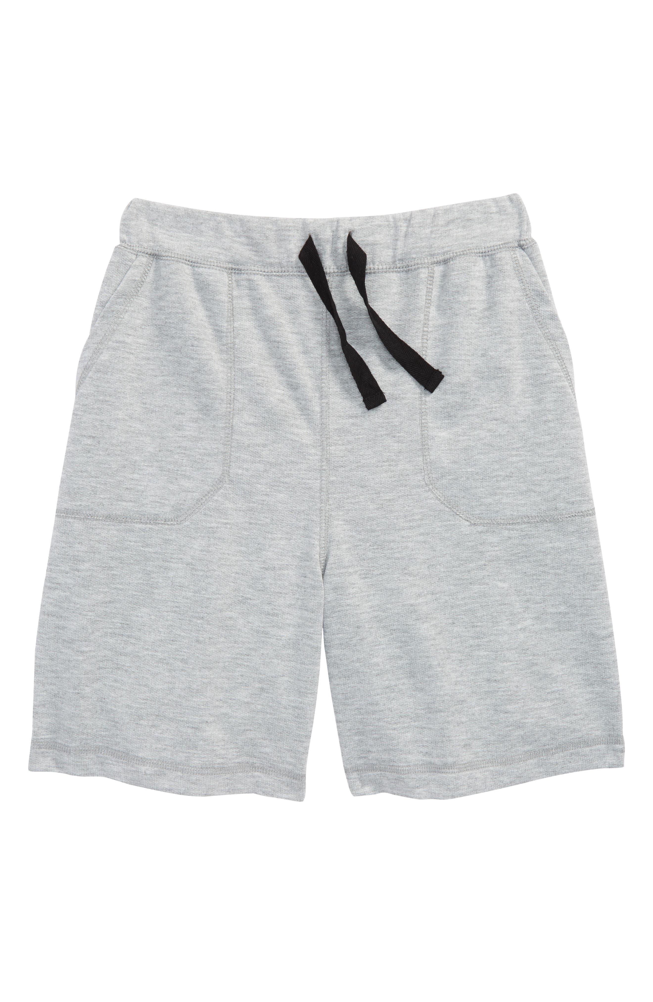 Soft Sleep Shorts,                             Main thumbnail 1, color,                             Grey Medium Heather