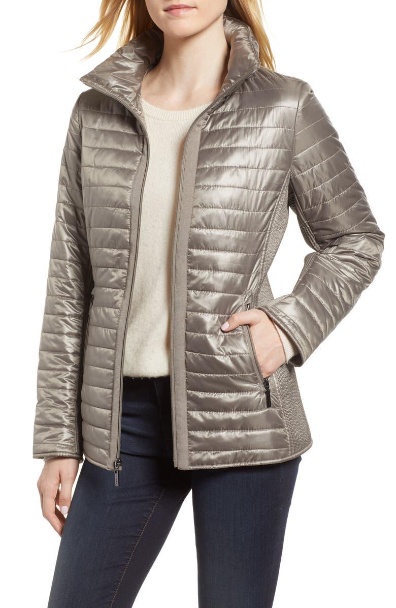 Hybrid Knit  Nylon Jacket