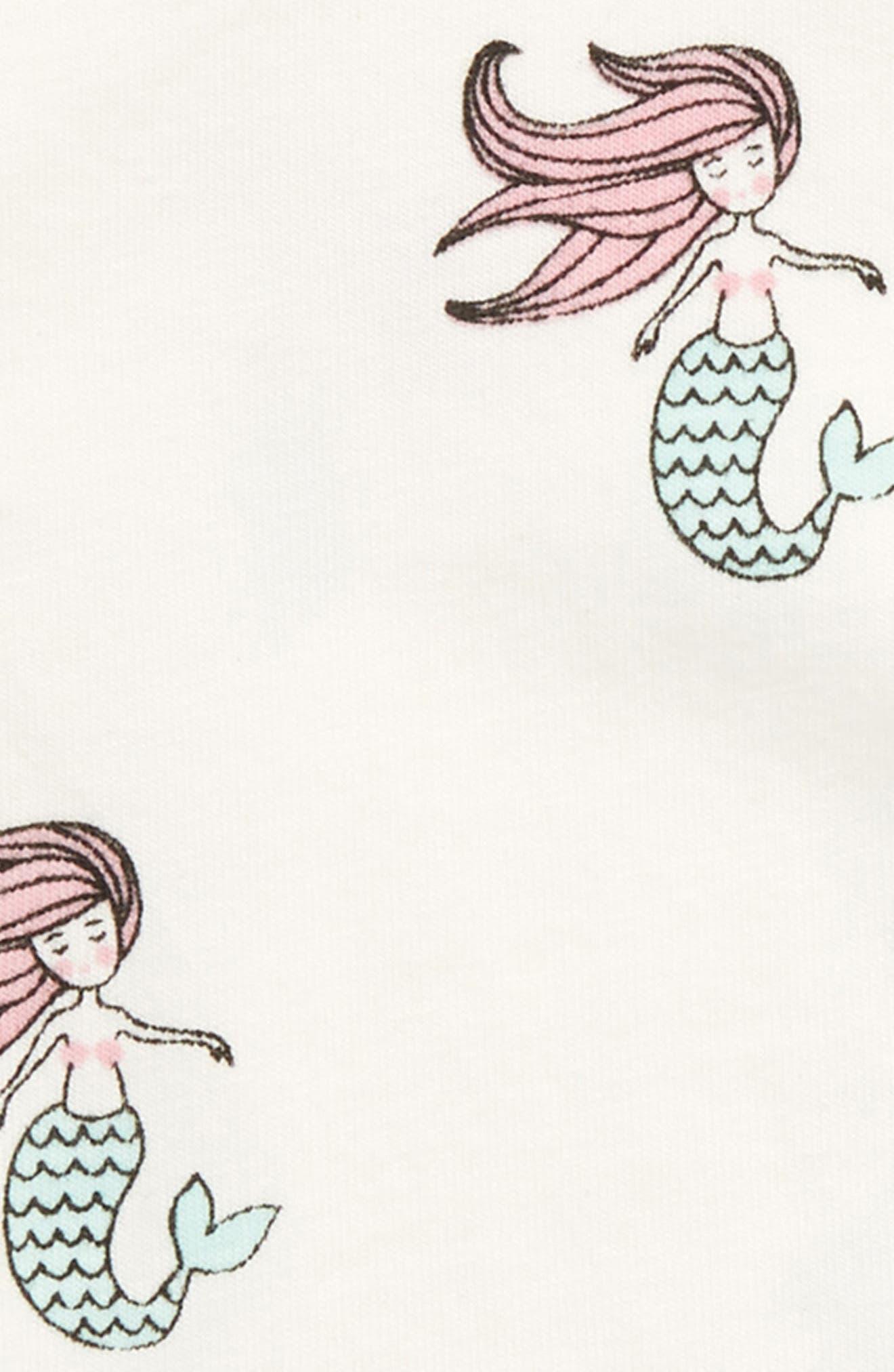 Jack Jill - Mermaid Bodysuit,                             Alternate thumbnail 2, color,                             Ocean Tails