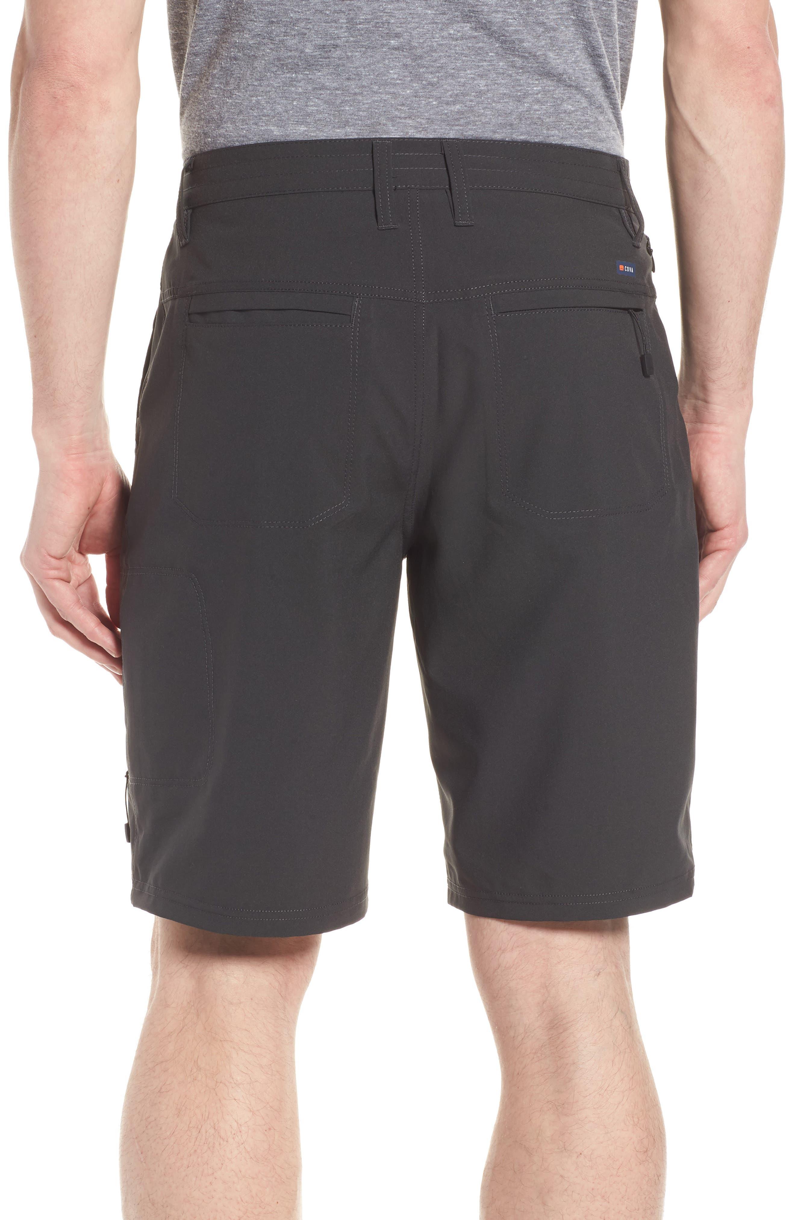 Pipeline Hybrid Shorts,                             Alternate thumbnail 2, color,                             Black