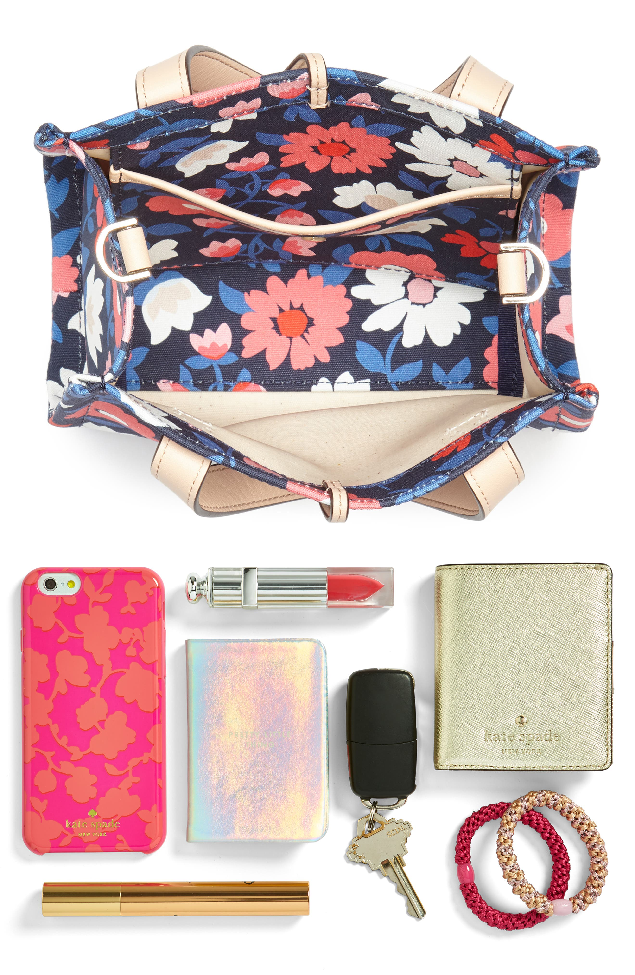 washington square - small sam canvas satchel,                             Alternate thumbnail 3, color,