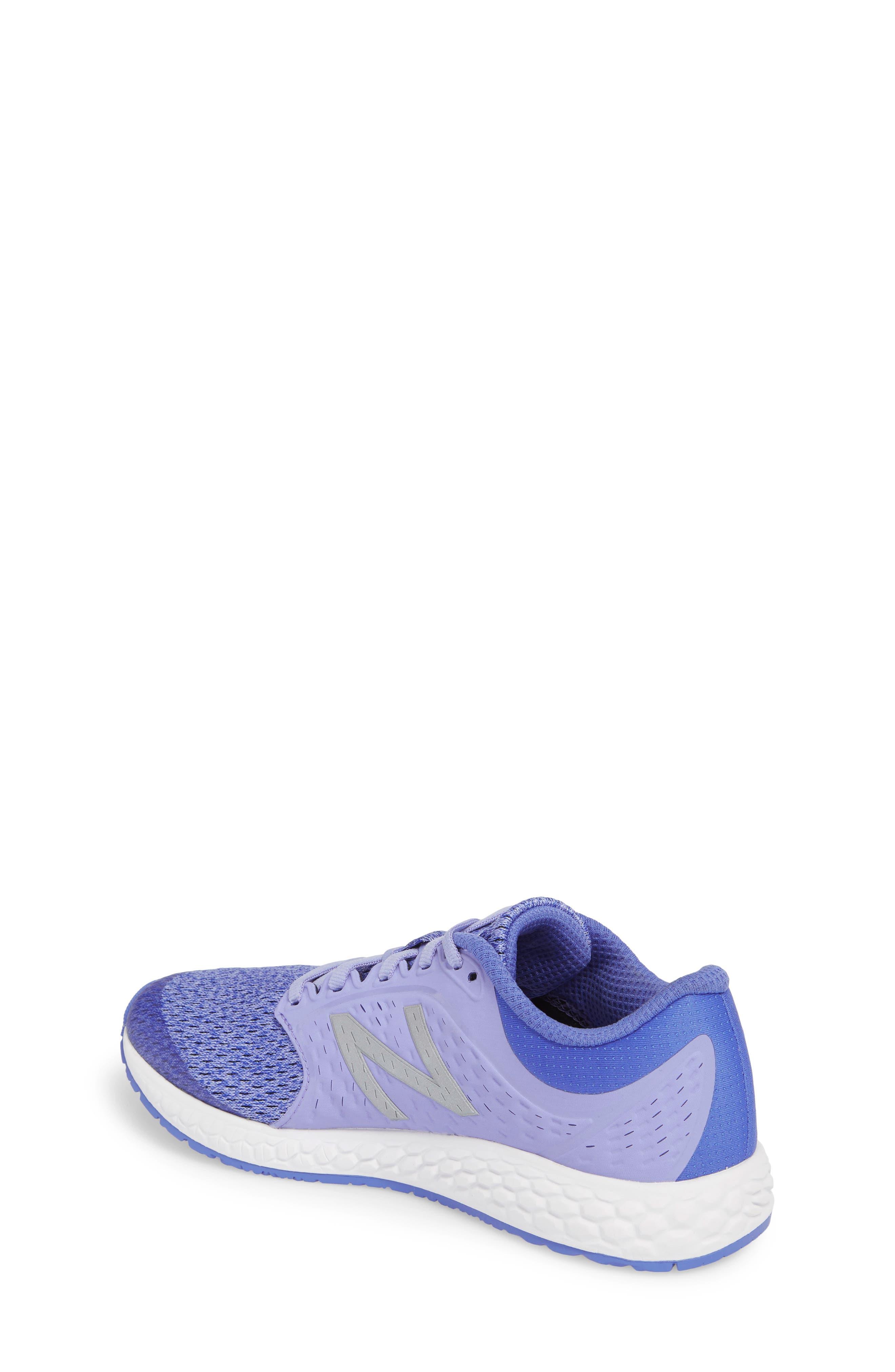 Fresh Foam Zante v4 Running Shoe,                             Alternate thumbnail 2, color,                             Ice Violet