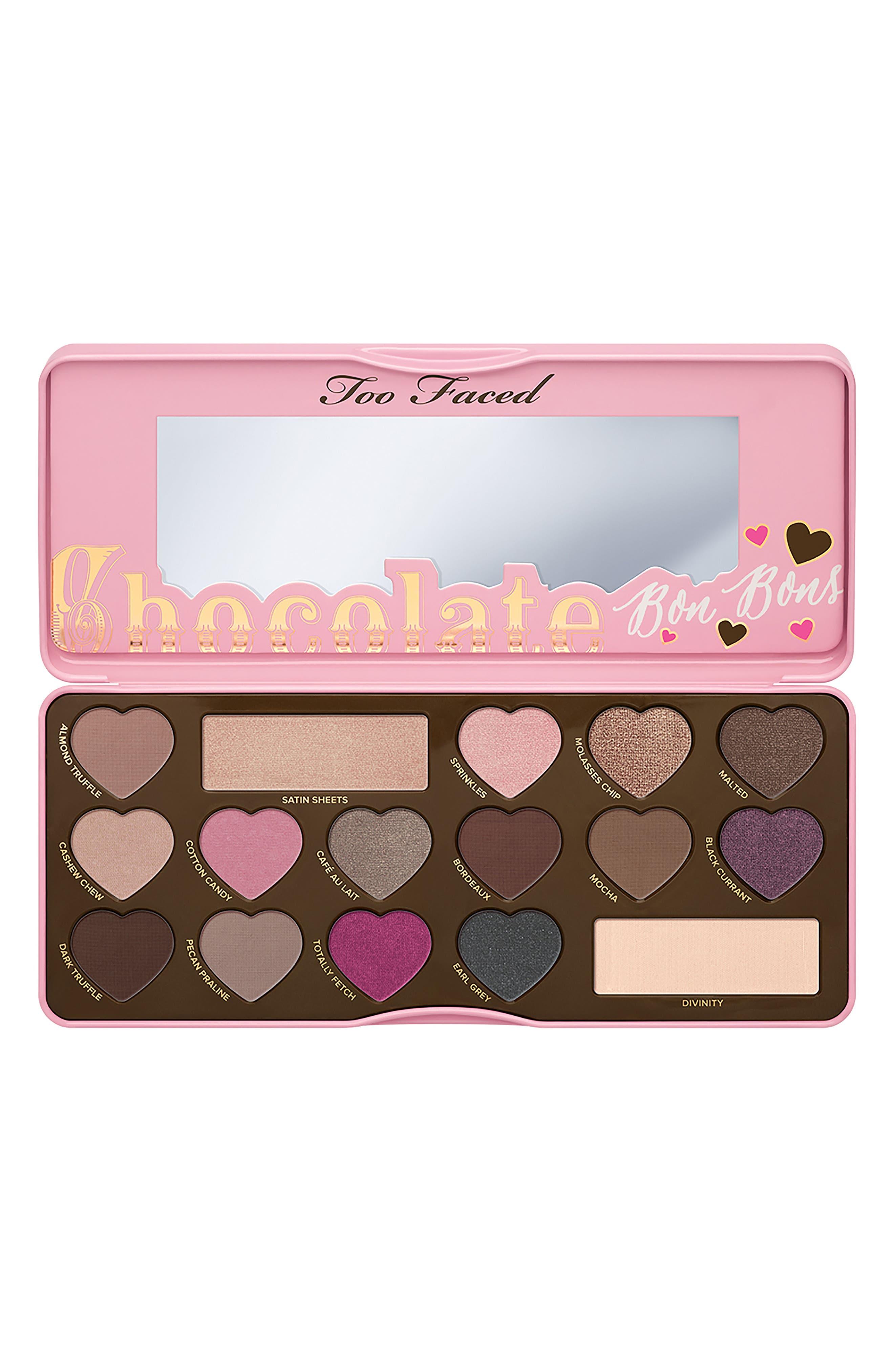 Chocolate Bon Bons Eyeshadow Palette,                             Alternate thumbnail 4, color,                             No Color
