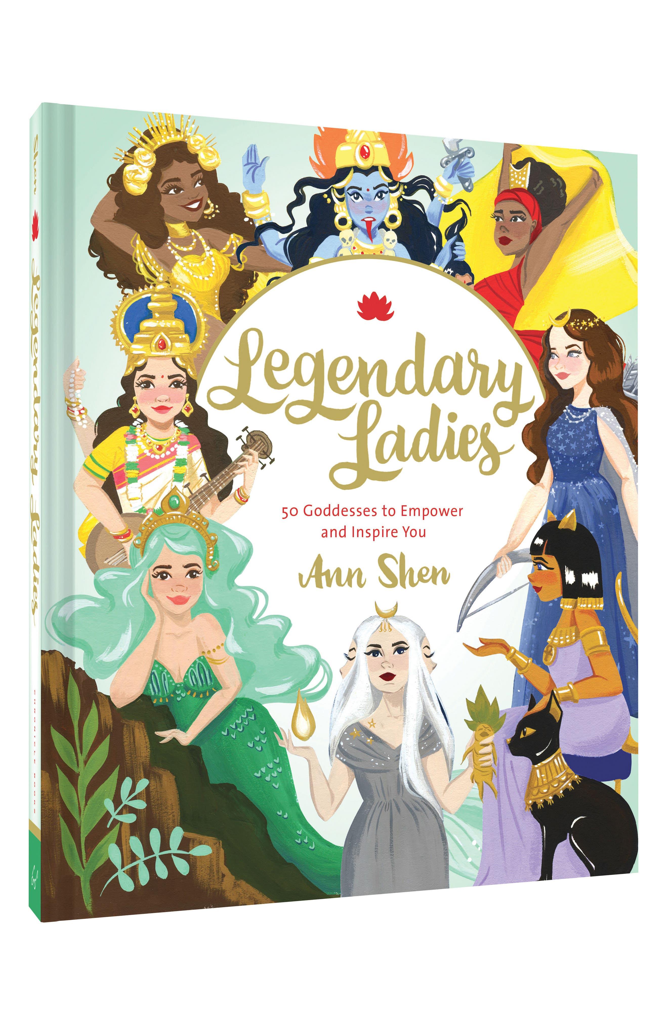 Legendary Ladies Book,                             Alternate thumbnail 2, color,                             Blue/ Green Multi