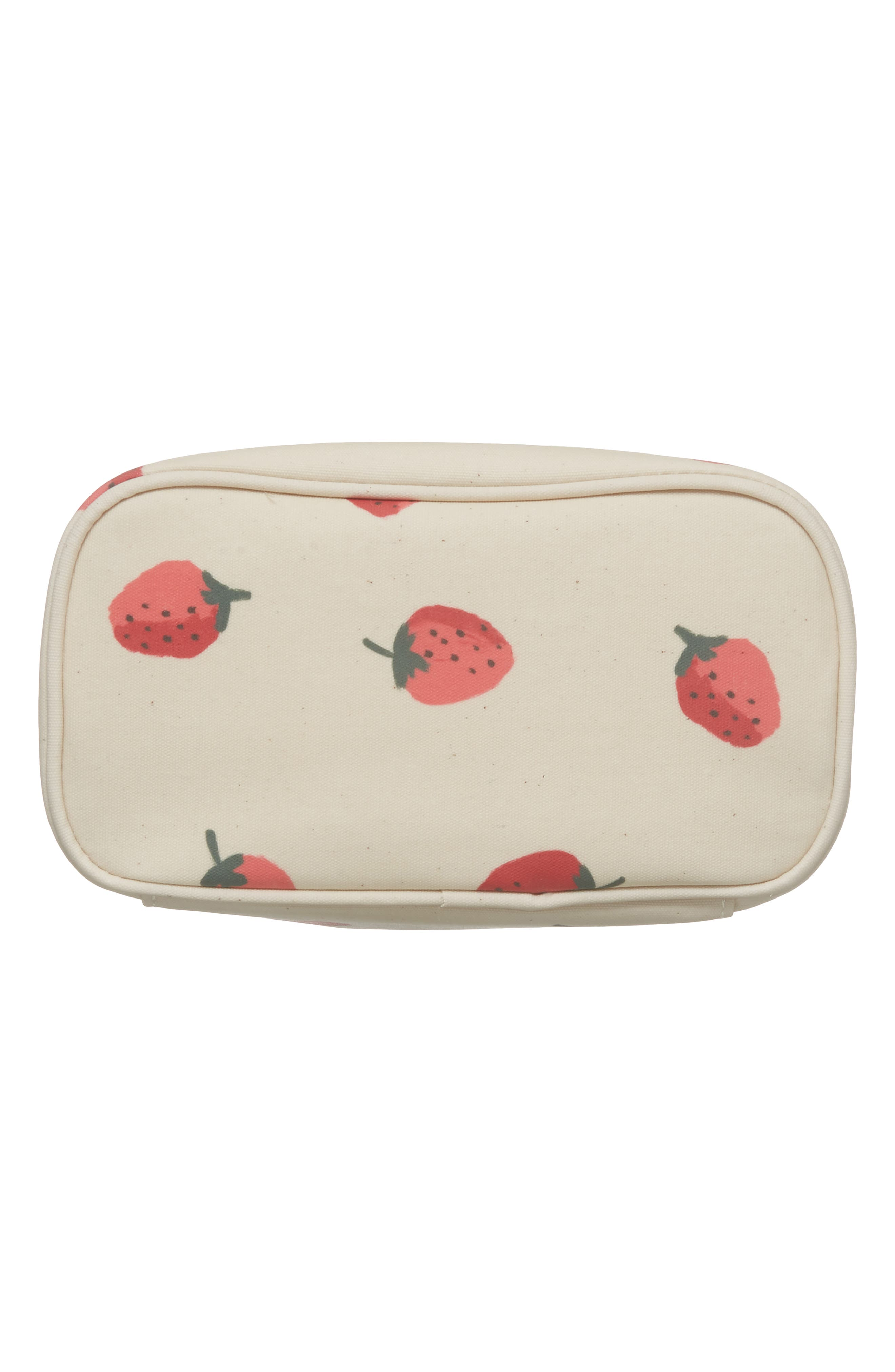 strawberry lunch tote,                             Alternate thumbnail 5, color,                             Strawberry