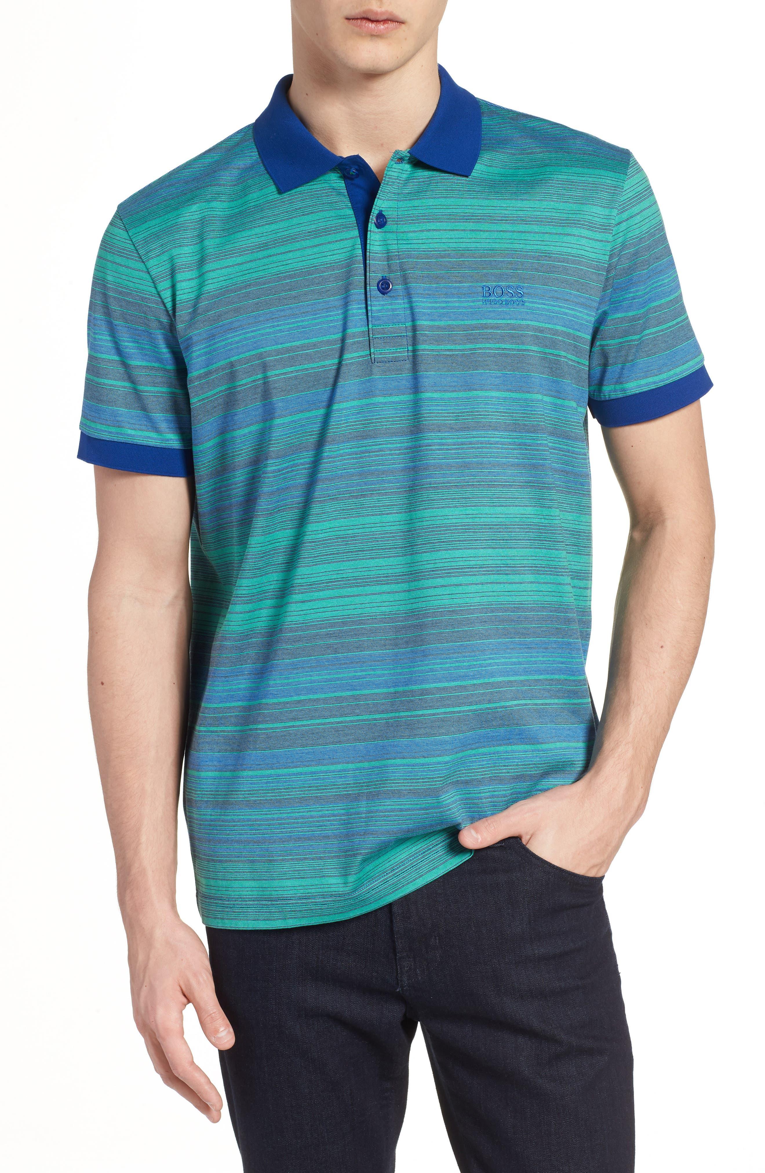 Paddy 3 Regular Fit Polo,                             Main thumbnail 1, color,                             Blue