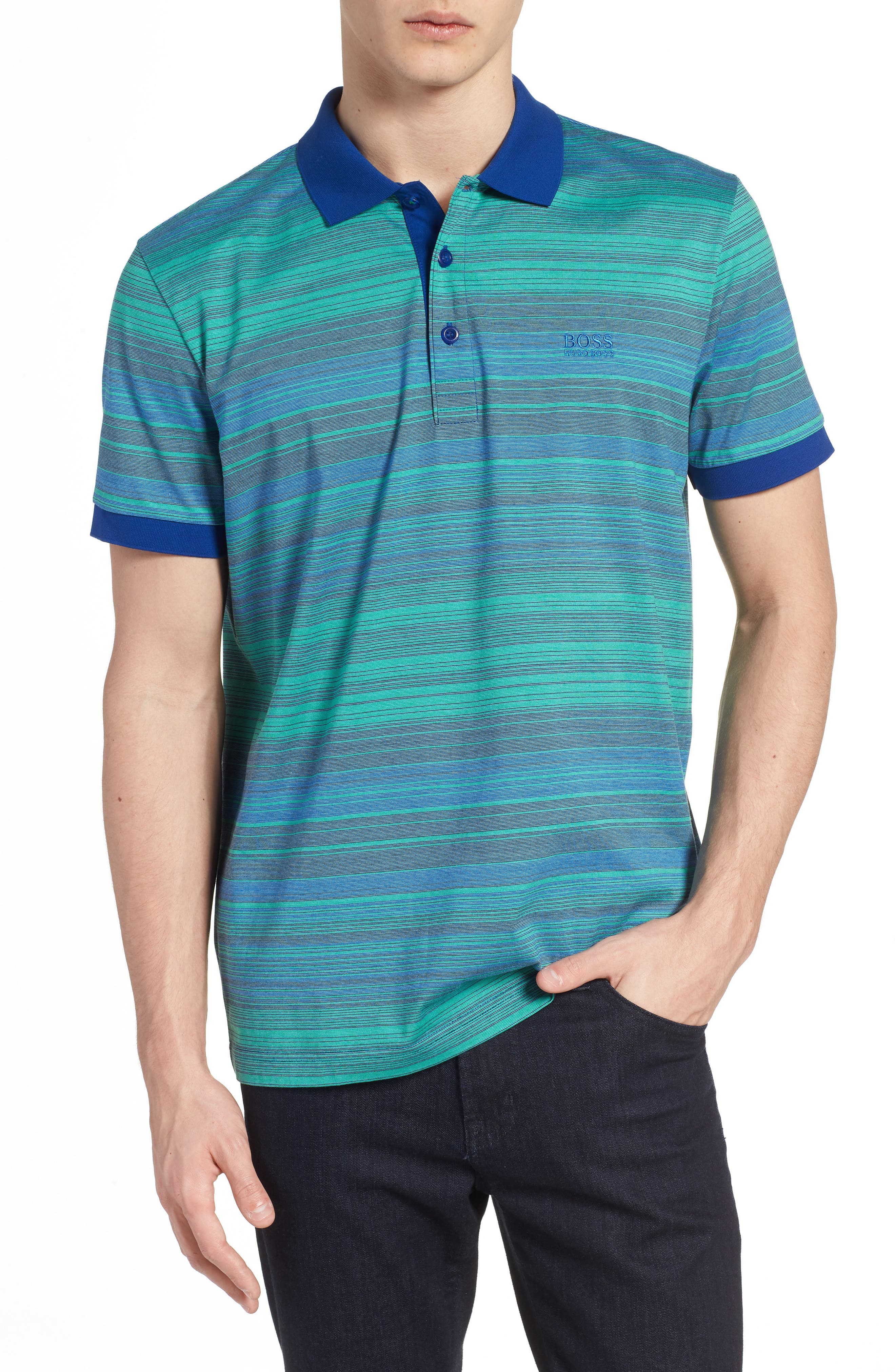 Paddy 3 Regular Fit Polo,                         Main,                         color, Blue