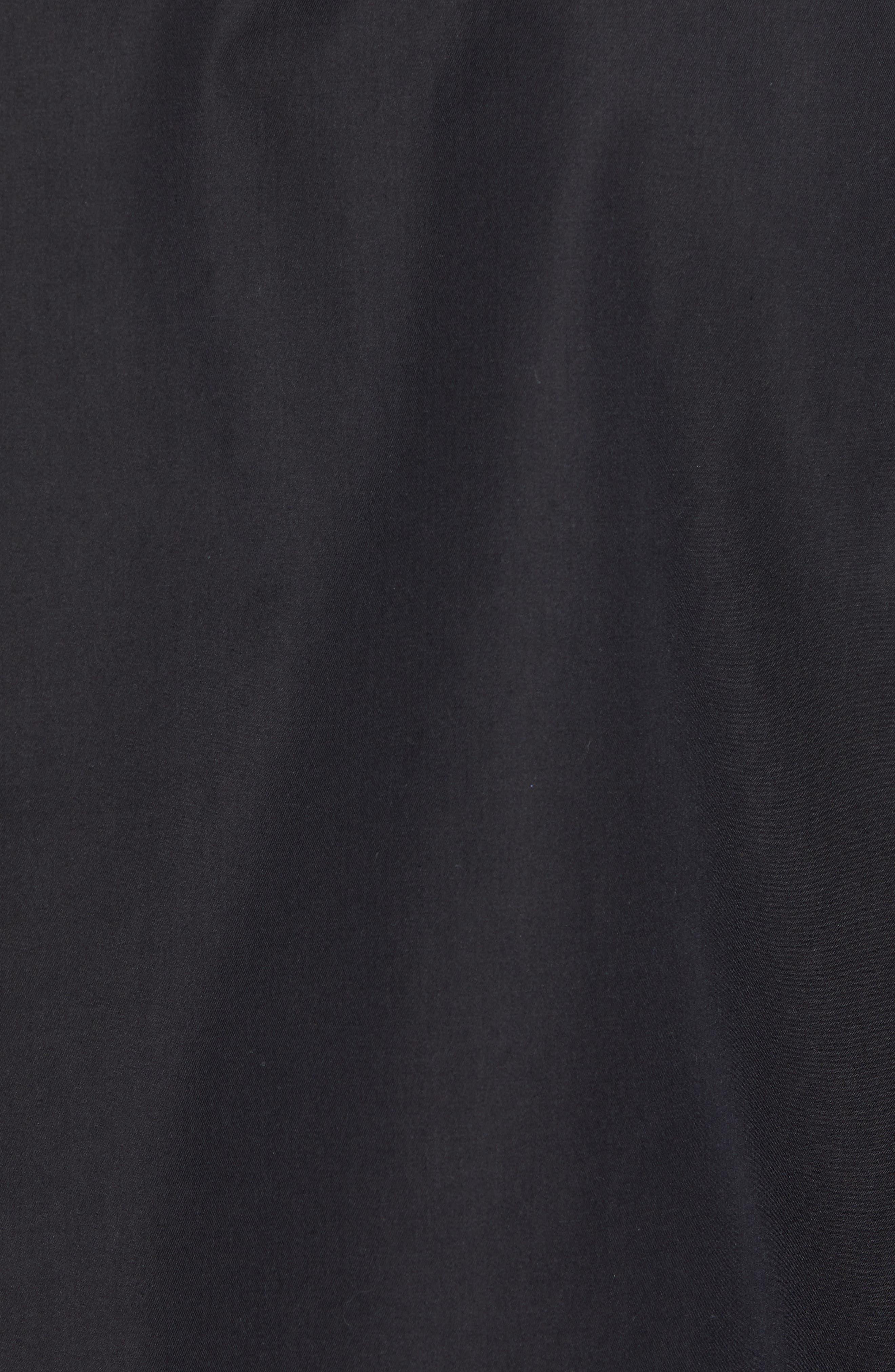 Regular Fit Jacket,                             Alternate thumbnail 5, color,                             Black