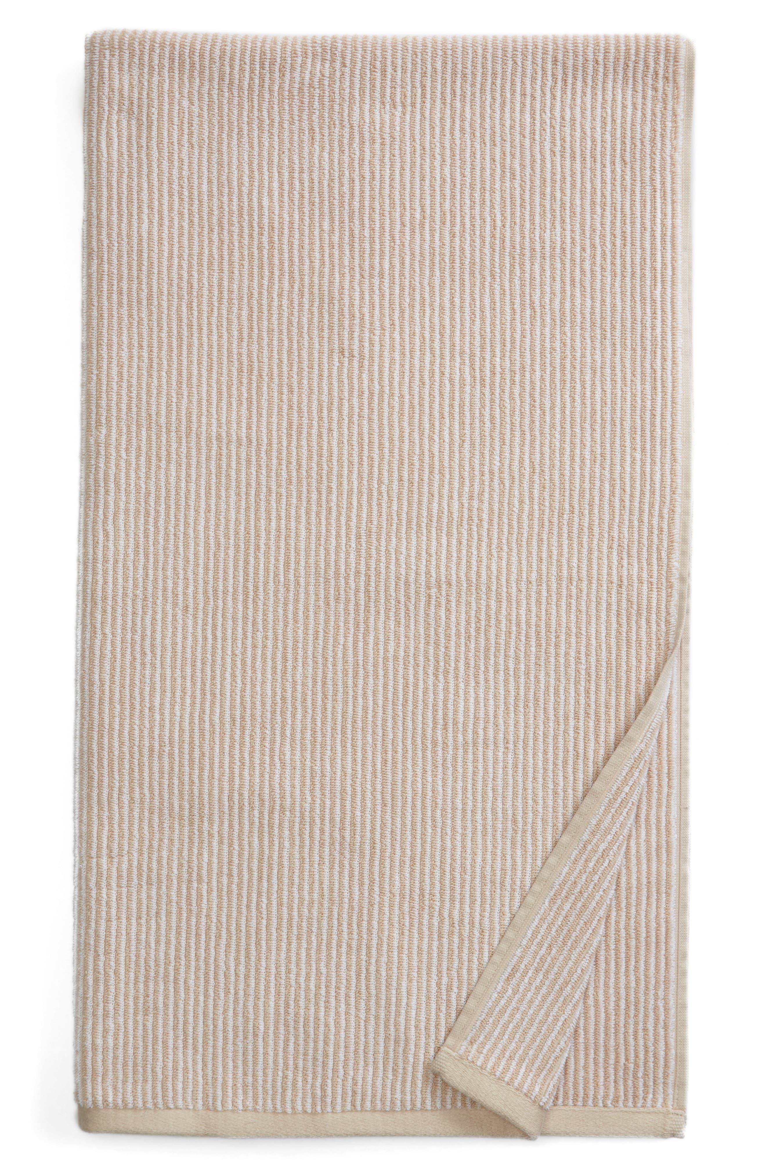 Nordstrom at Home Ezra Stripe 650 Thread Count Bath Towel