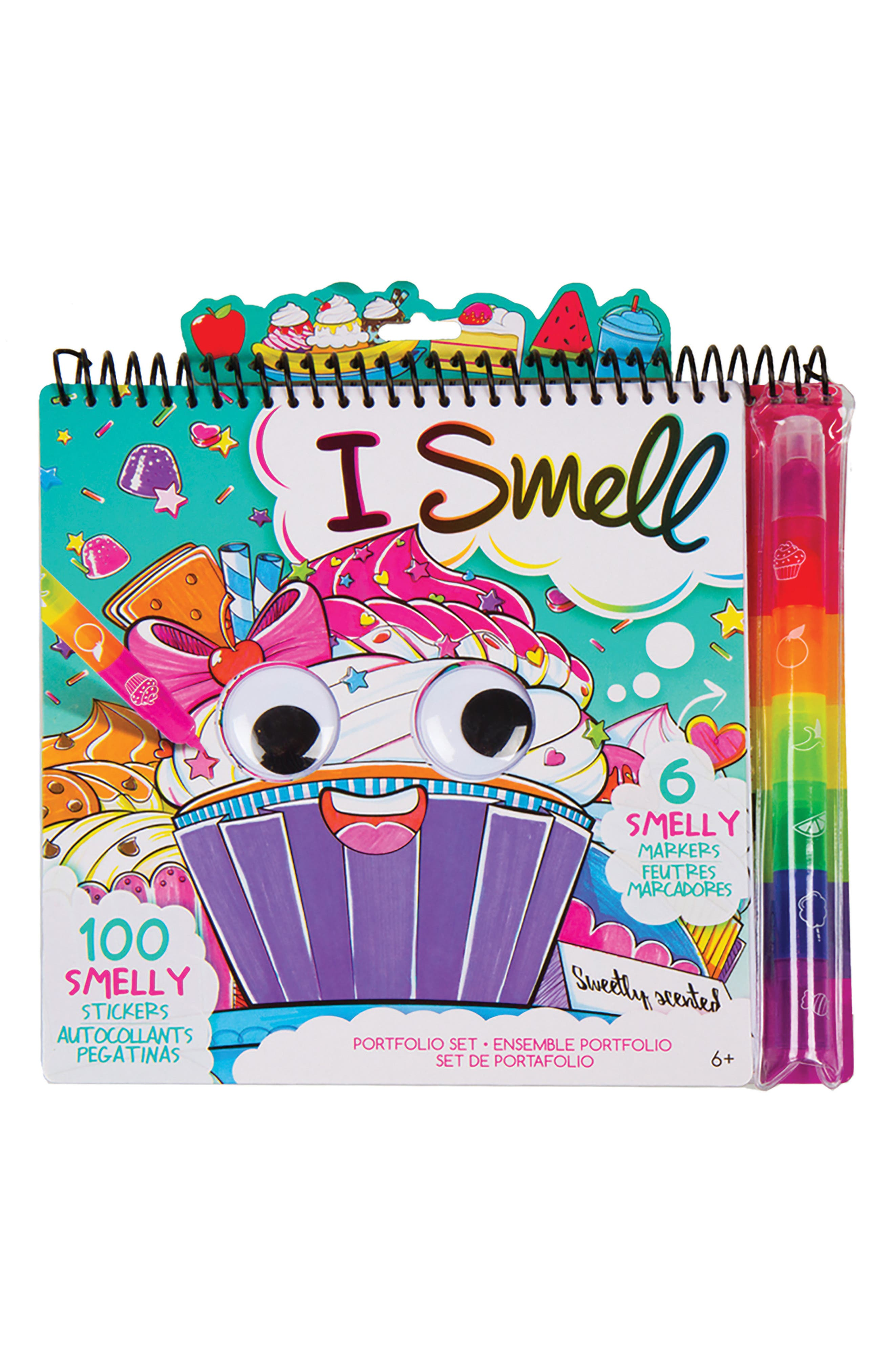 I Smell Sketch Portfolio,                             Main thumbnail 1, color,                             Multi