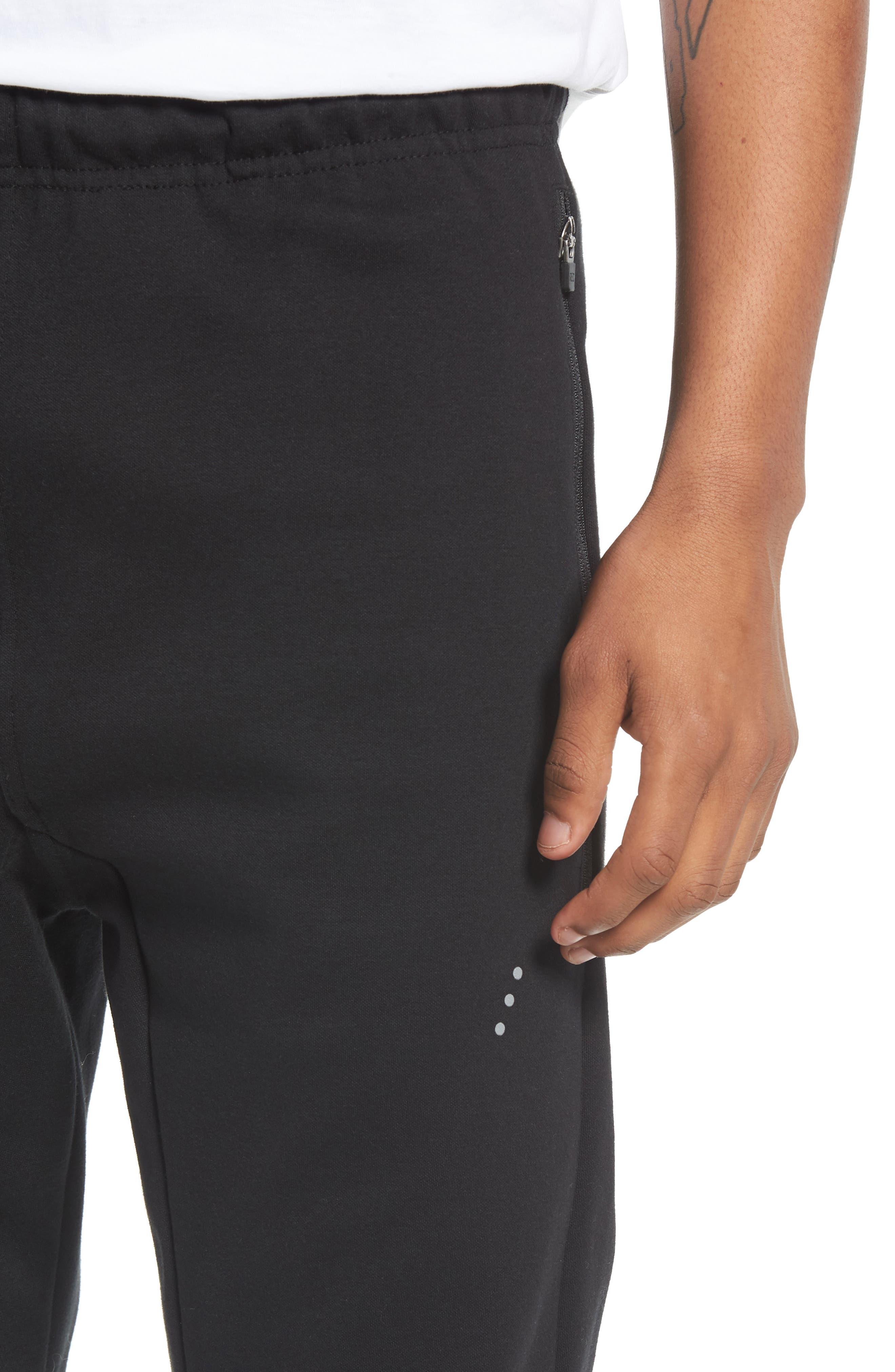 Tech Track Pants,                             Alternate thumbnail 4, color,                             Black