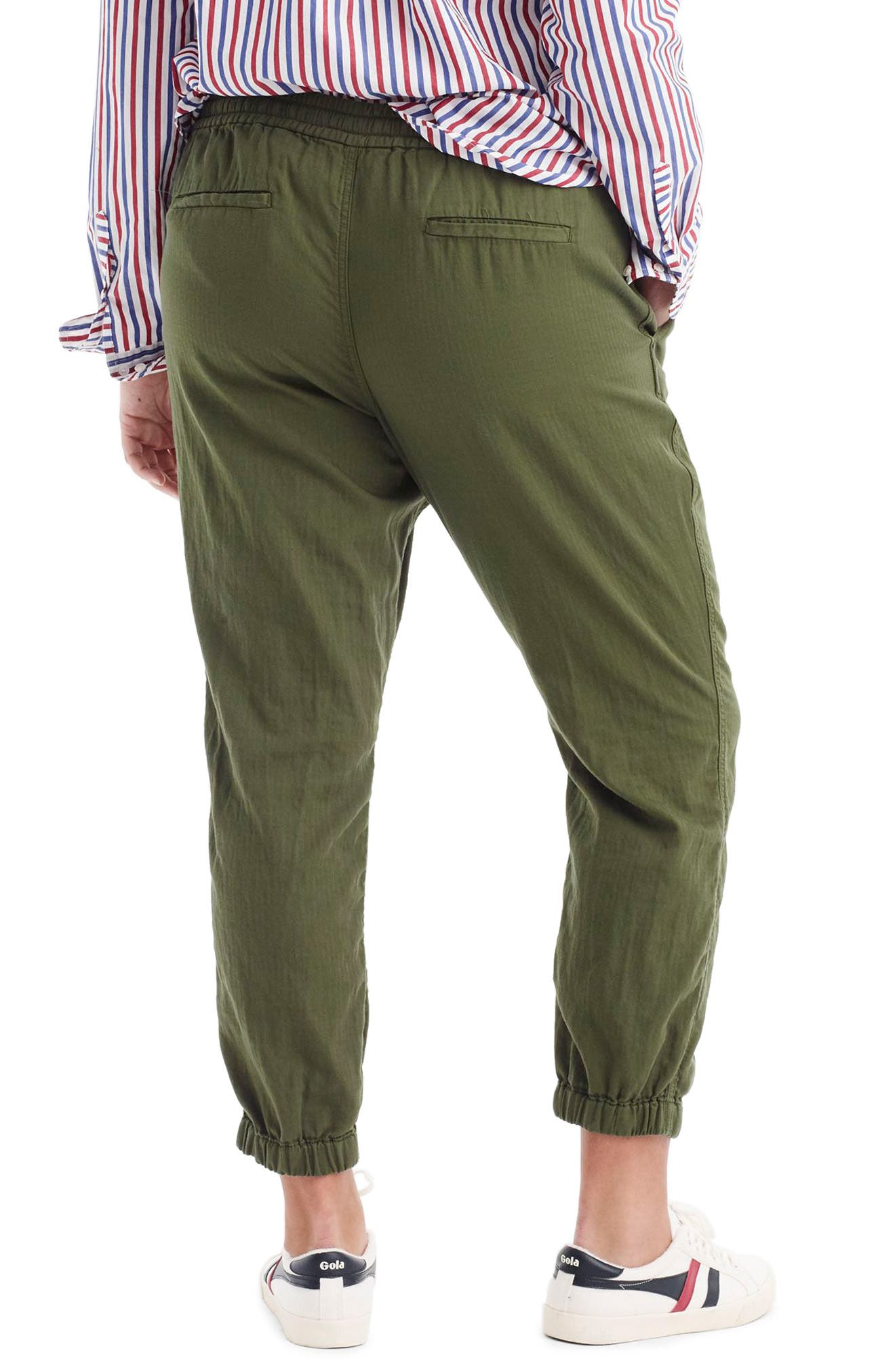 Alternate Image 2  - J.Crew Galicia Pull-On Cargo Pants (Regular & Petite)