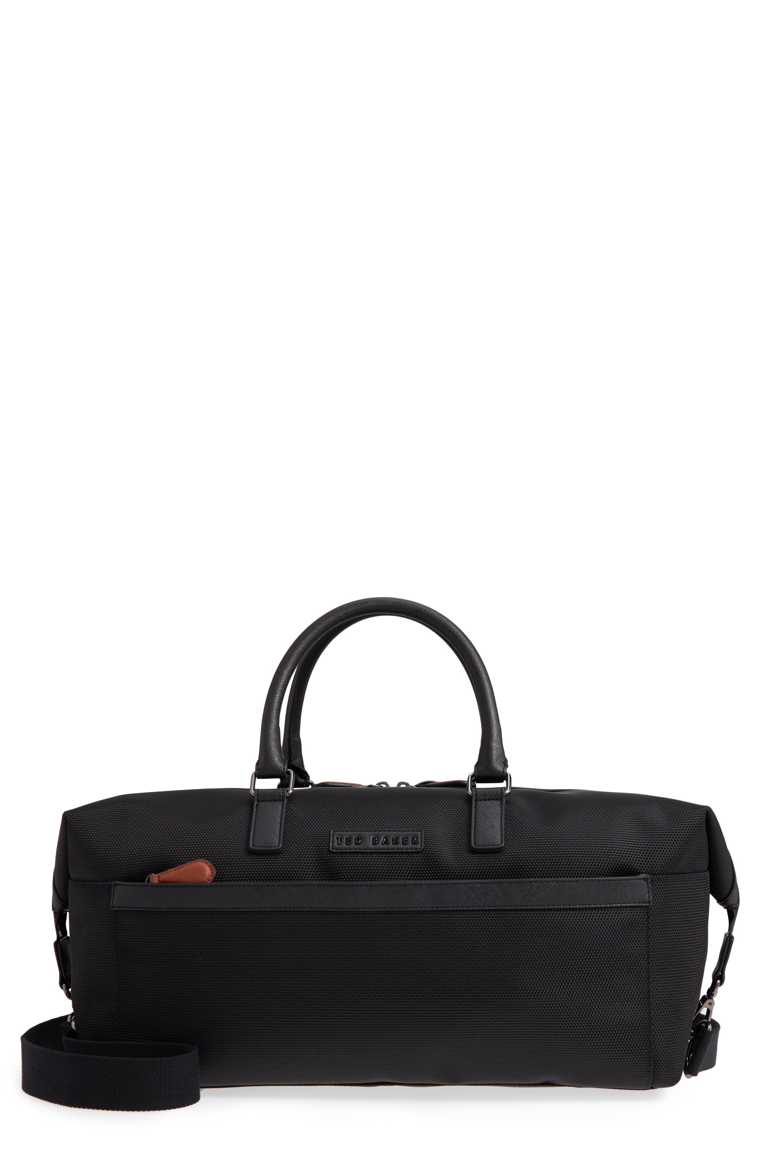 Smart Duffel Bag,                         Main,                         color, Black