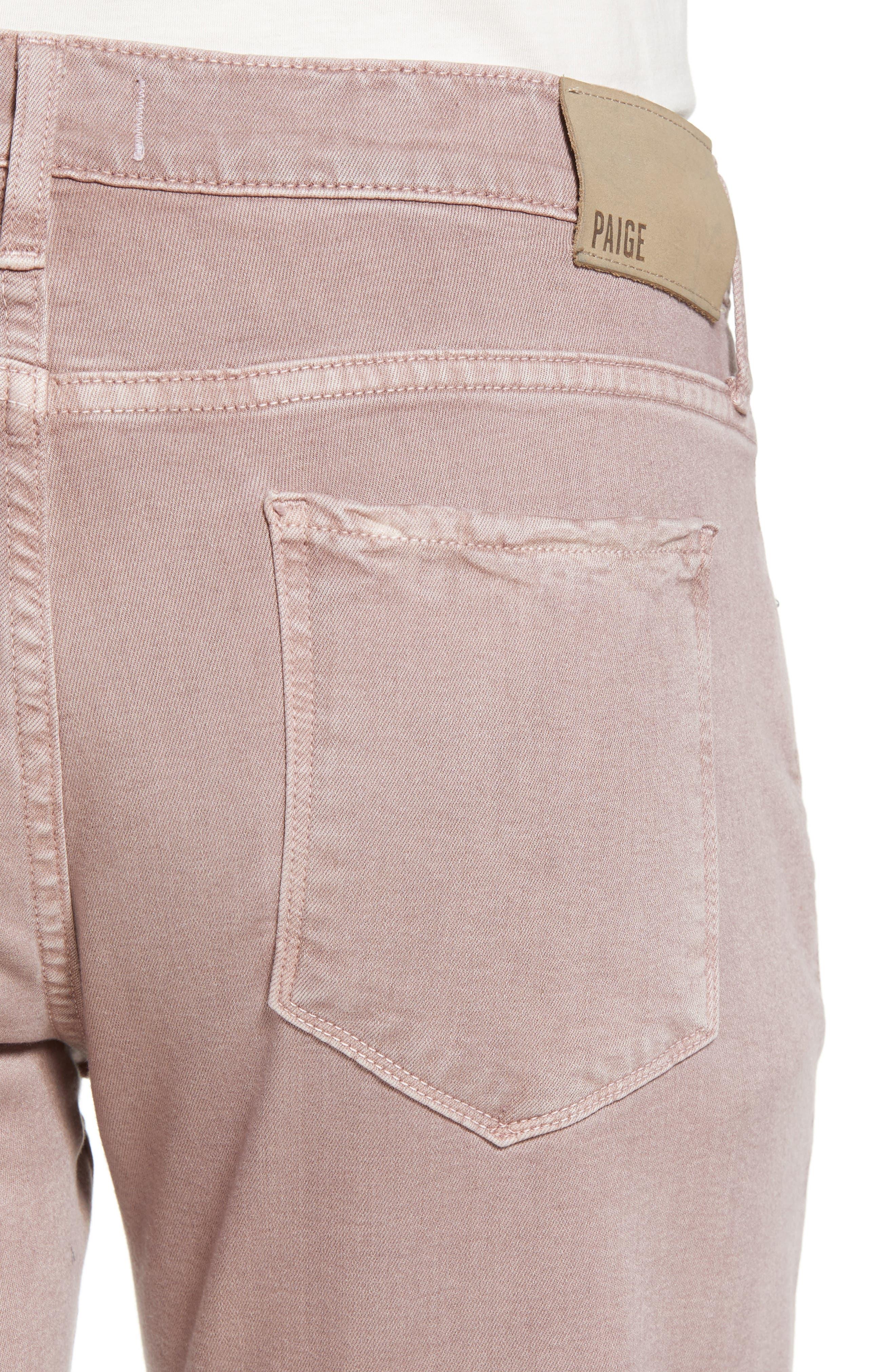 Federal Slim Straight Fit Jeans,                             Alternate thumbnail 4, color,                             Vintage Henna