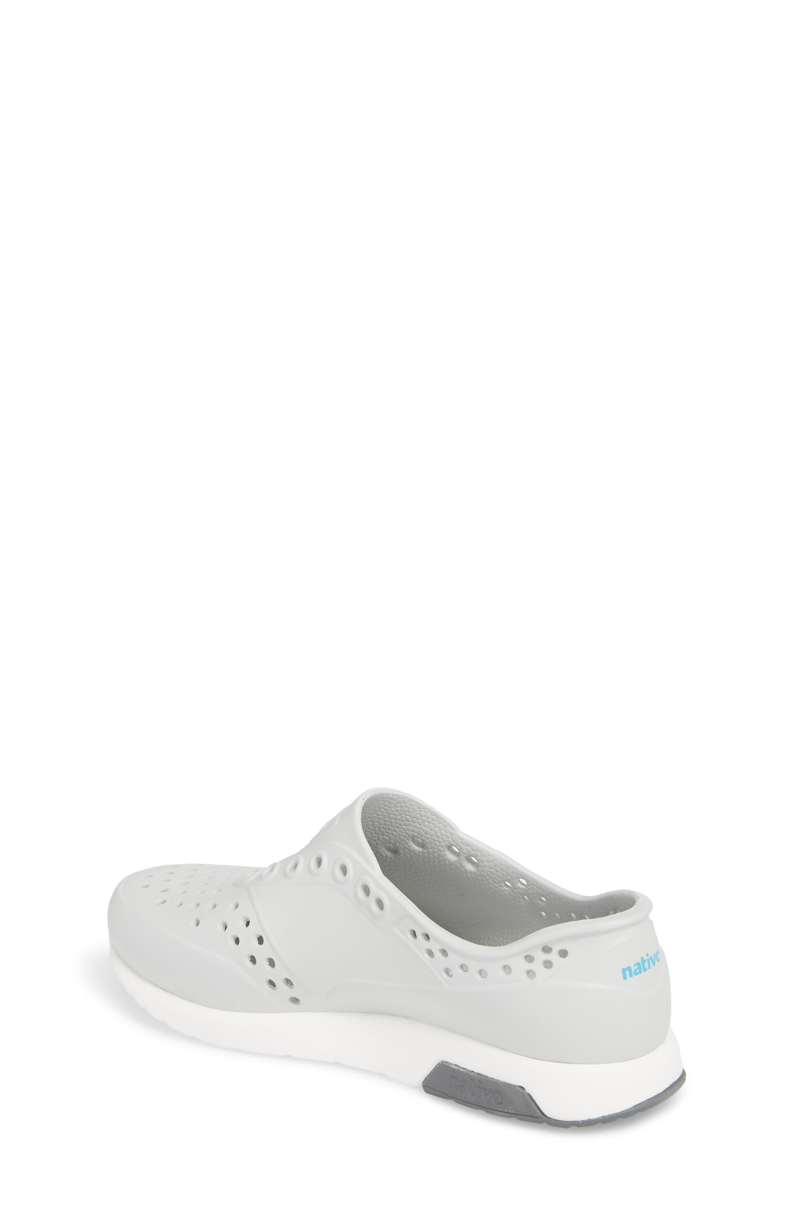 Lennox Slip-On Sneaker,                             Alternate thumbnail 2, color,                             Mist Grey/ White/ Dublin Grey