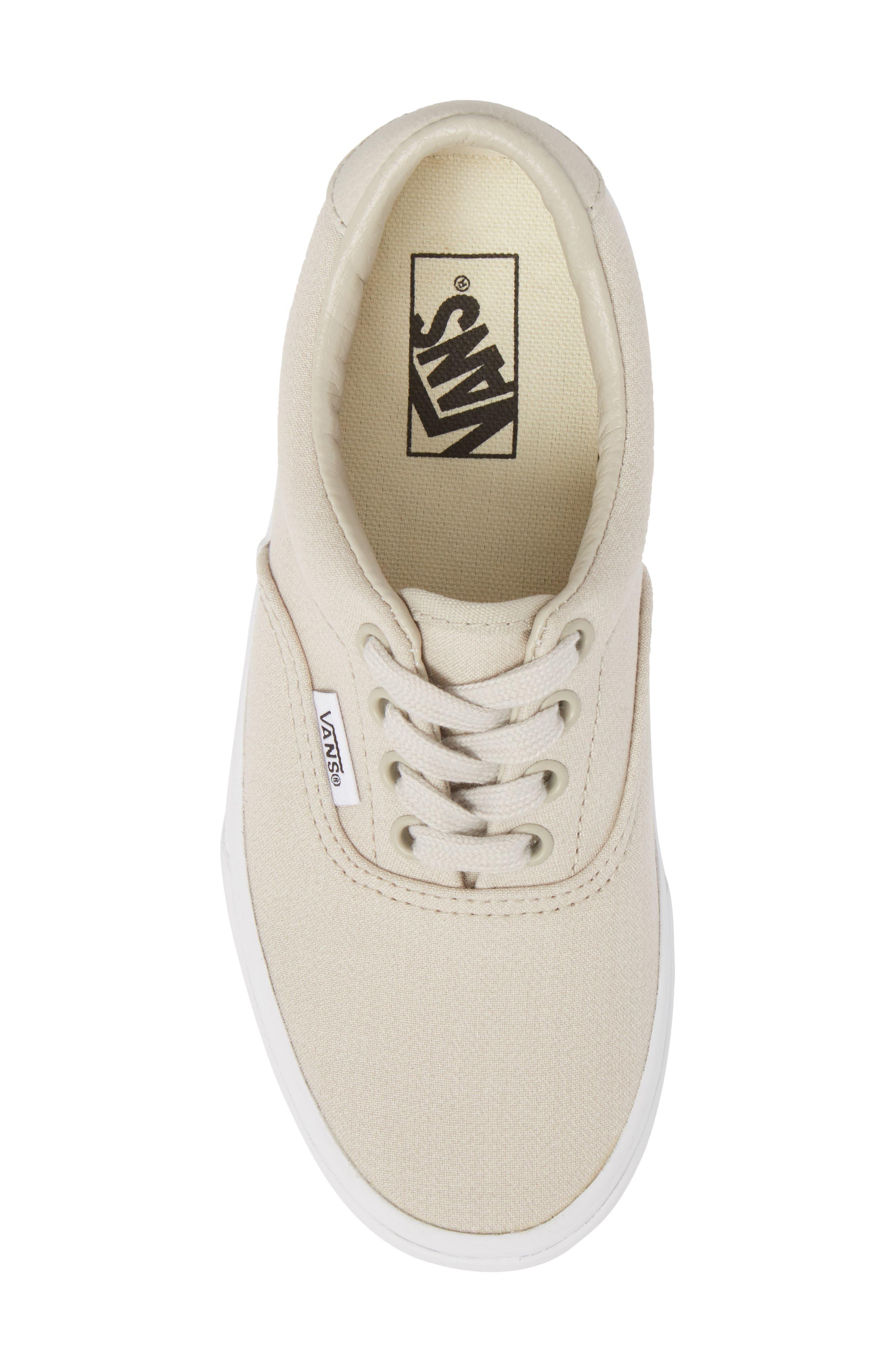 Era 59 Bleacher Sneaker,                             Alternate thumbnail 5, color,                             Silver Lining/ True White