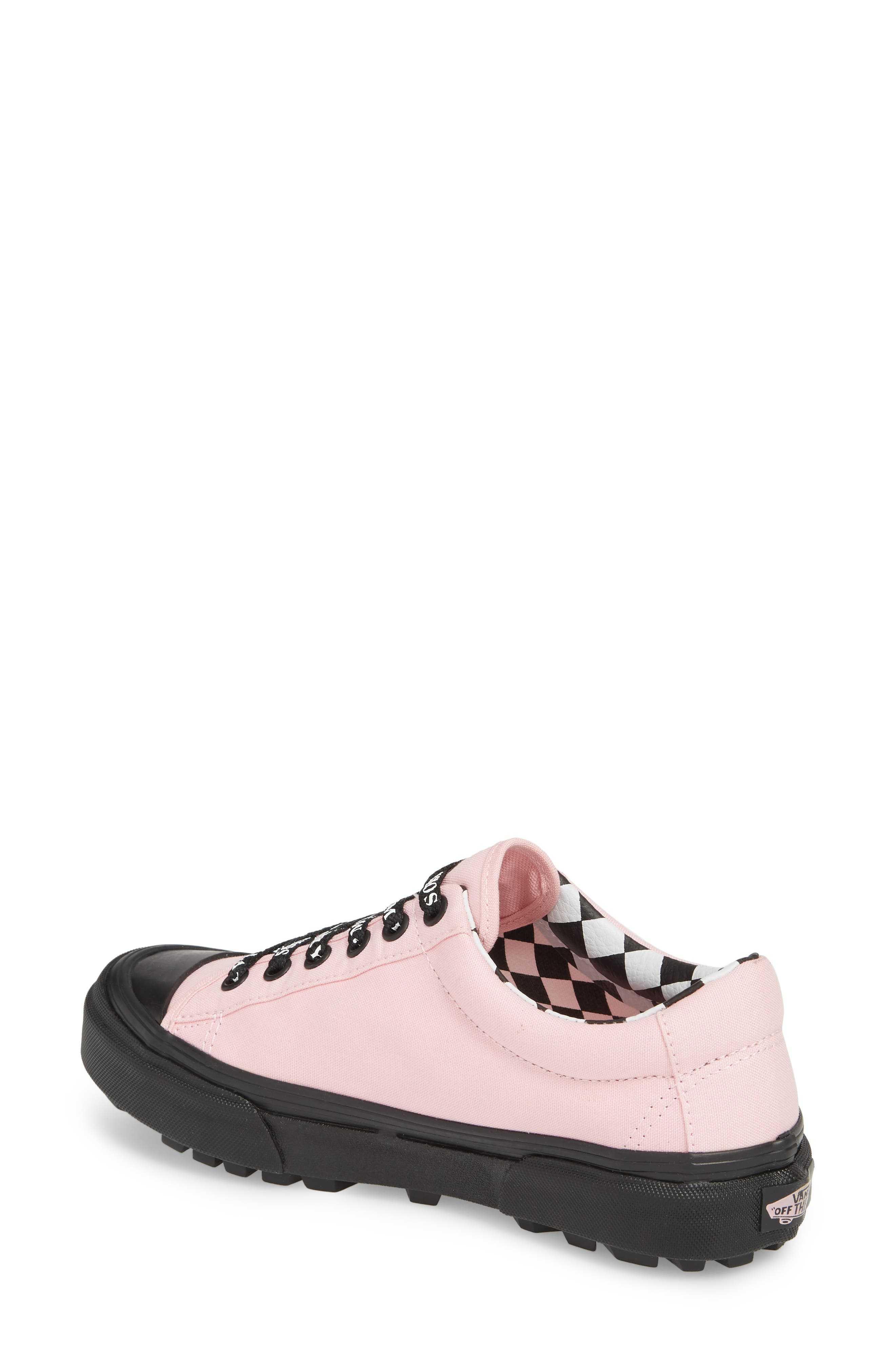 Alternate Image 2  - Vans x Lazy Oaf Style 29 Low Top Sneaker (Women)