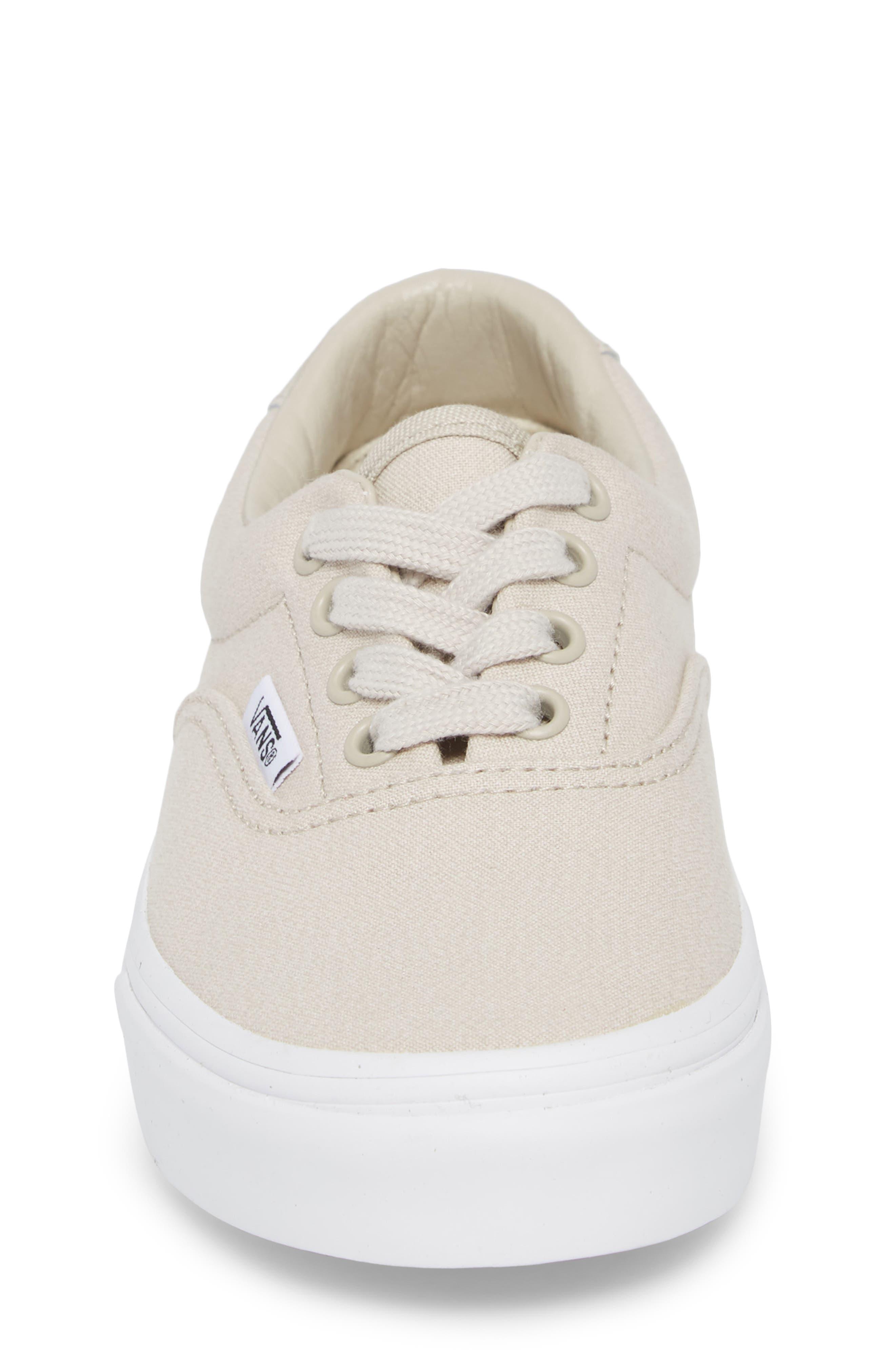 Era 59 Bleacher Sneaker,                             Alternate thumbnail 4, color,                             Silver Lining/ True White