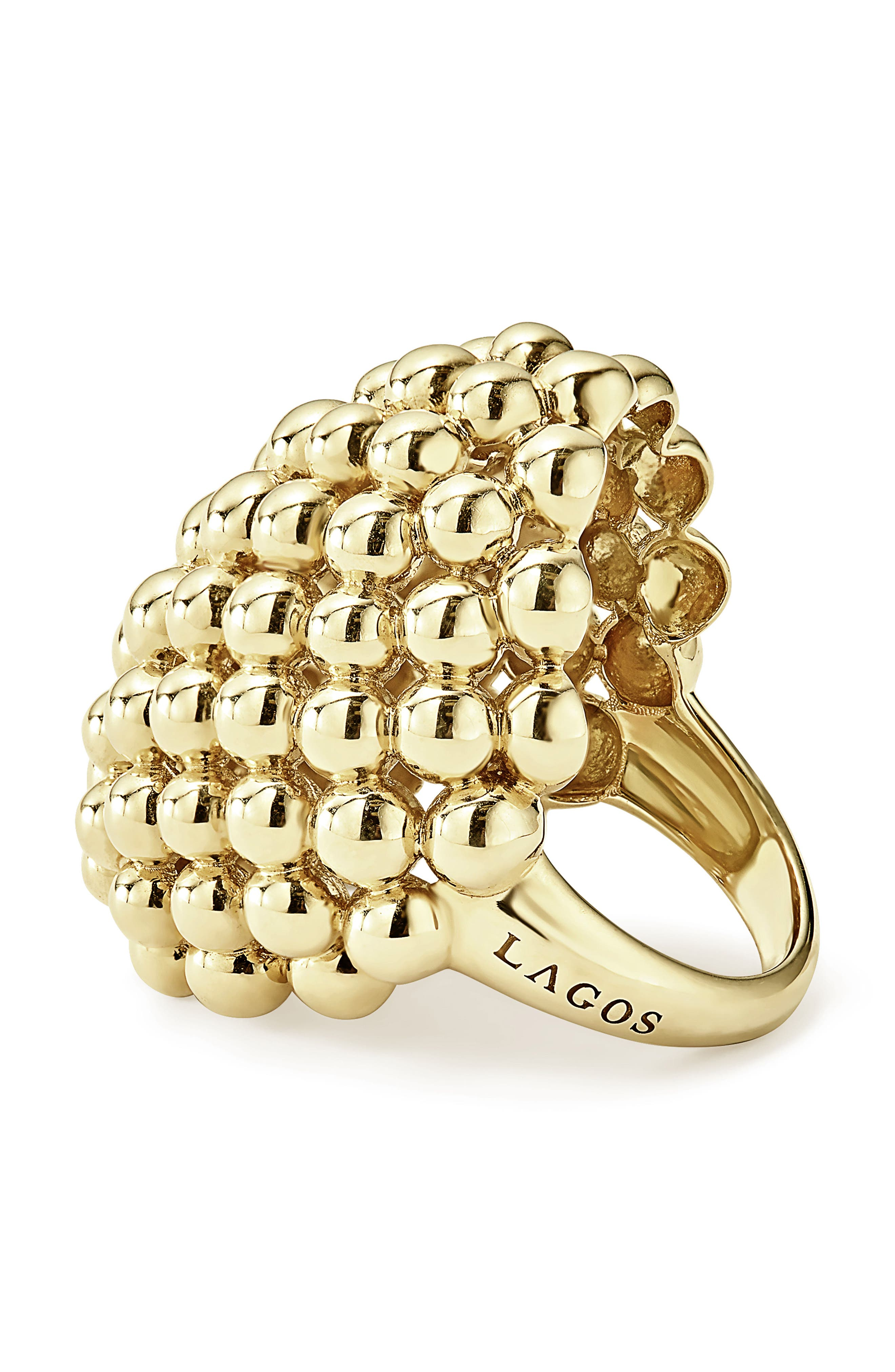 Dome Ring,                             Alternate thumbnail 3, color,                             Gold