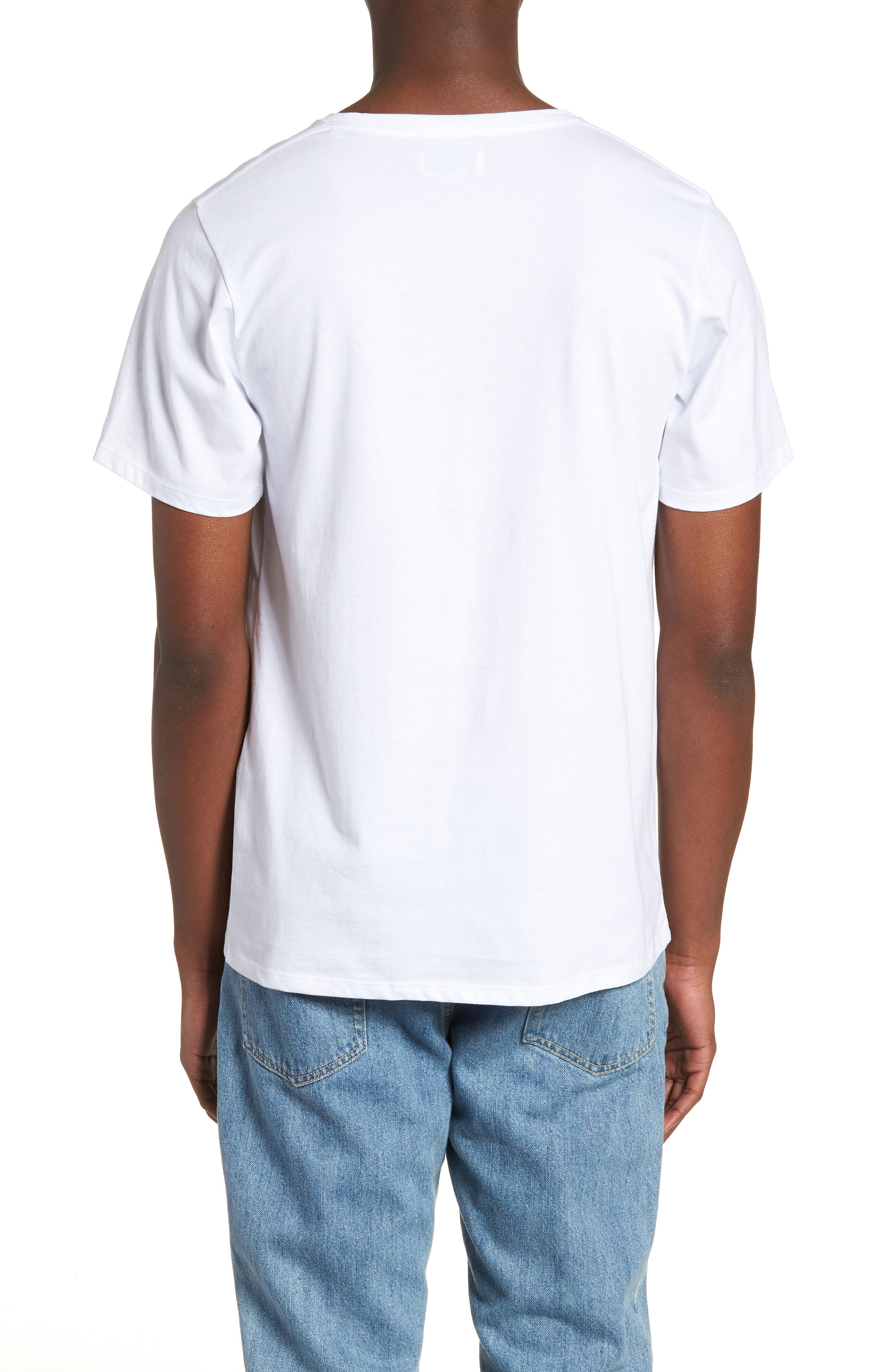 Floater Fill T-Shirt,                             Alternate thumbnail 2, color,                             White