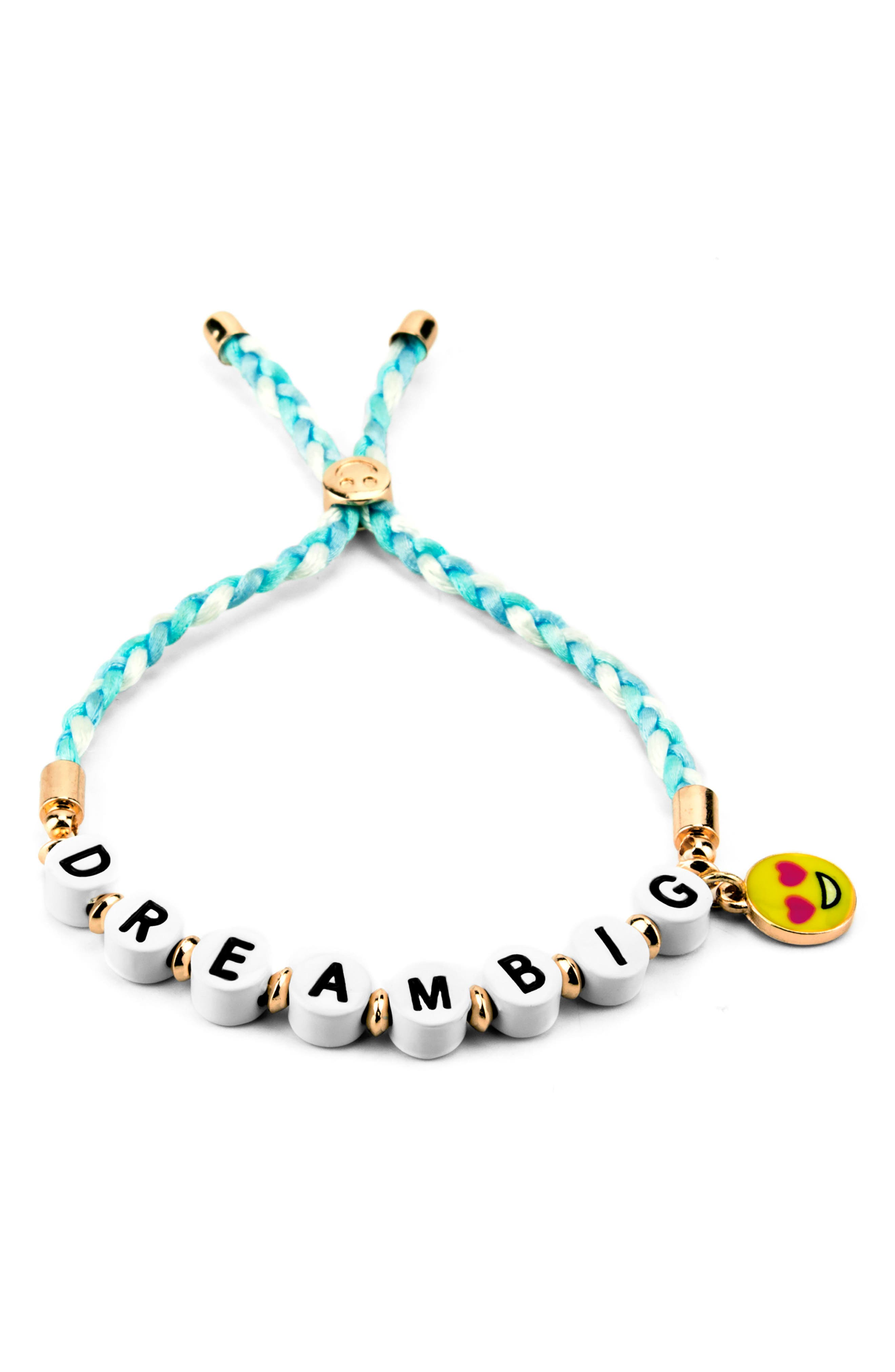 CHARM IT!<sup>®</sup> Dream Big Emoji Bracelet,                             Main thumbnail 1, color,                             Multi
