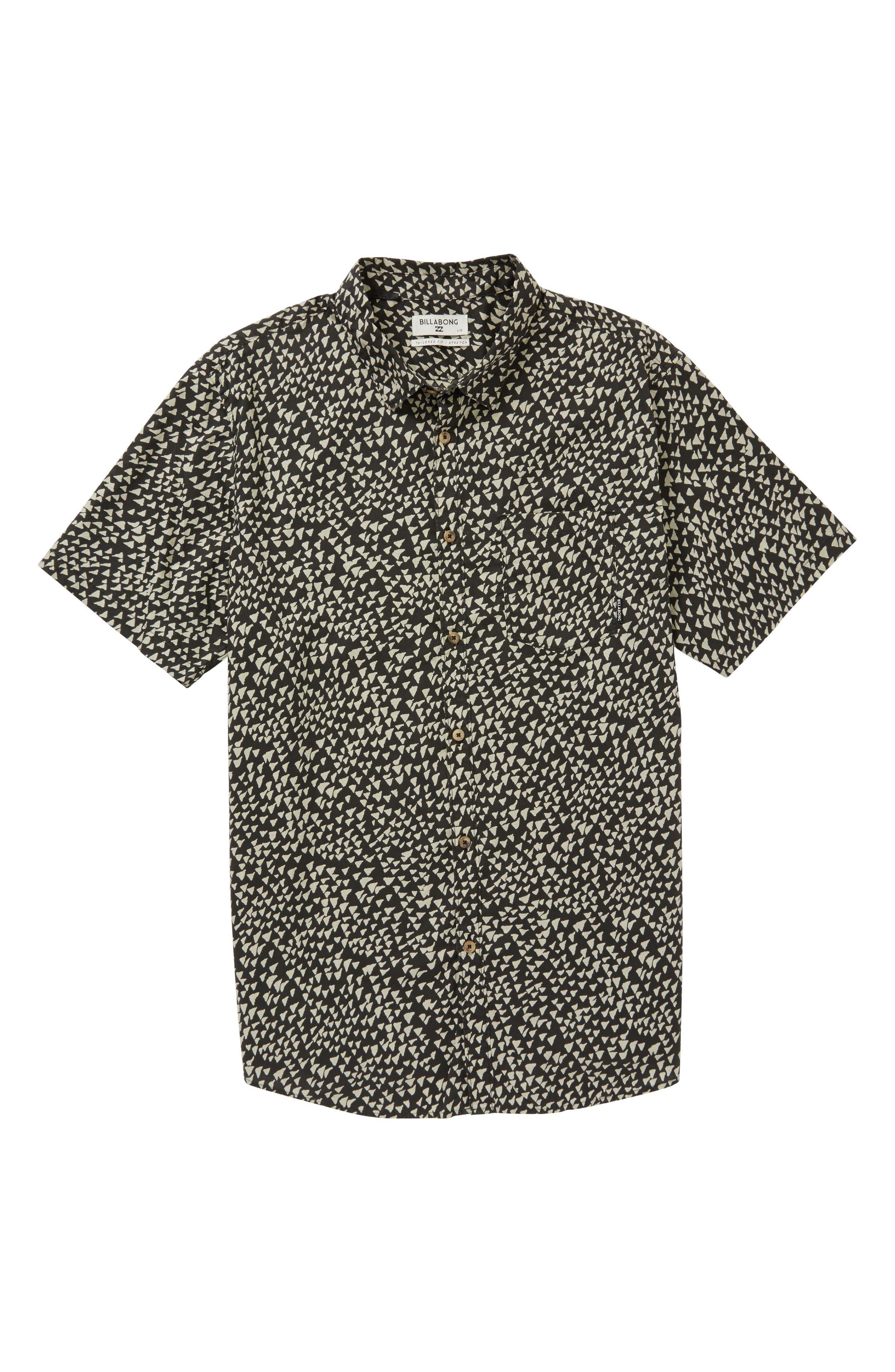 Alternate Image 1 Selected - Billabong Sundays Woven Shirt (Little Boys)
