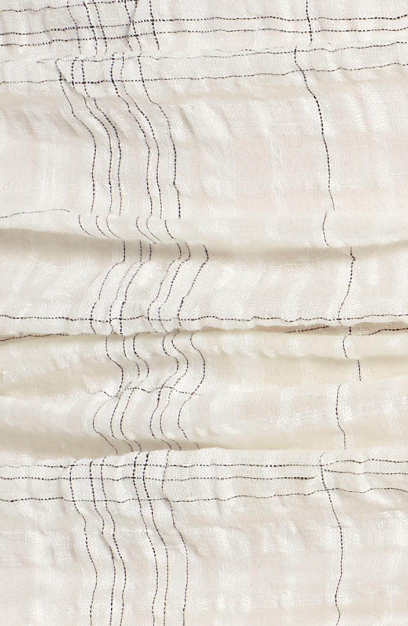 Freja Ruched Dress,                             Alternate thumbnail 6, color,                             Picnic Check