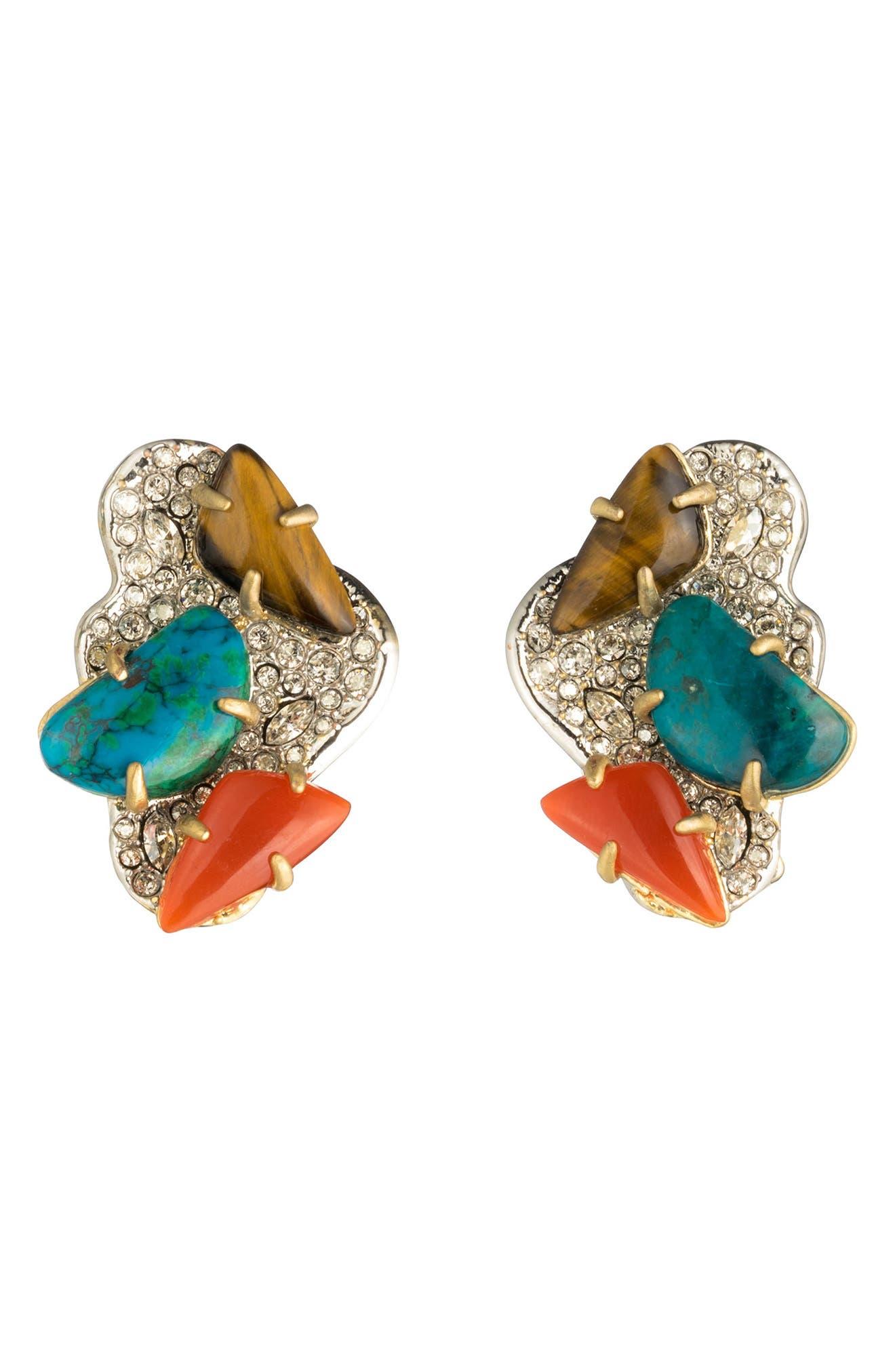 Alexis Bittar Roxbury Crystal Encrusted Earrings