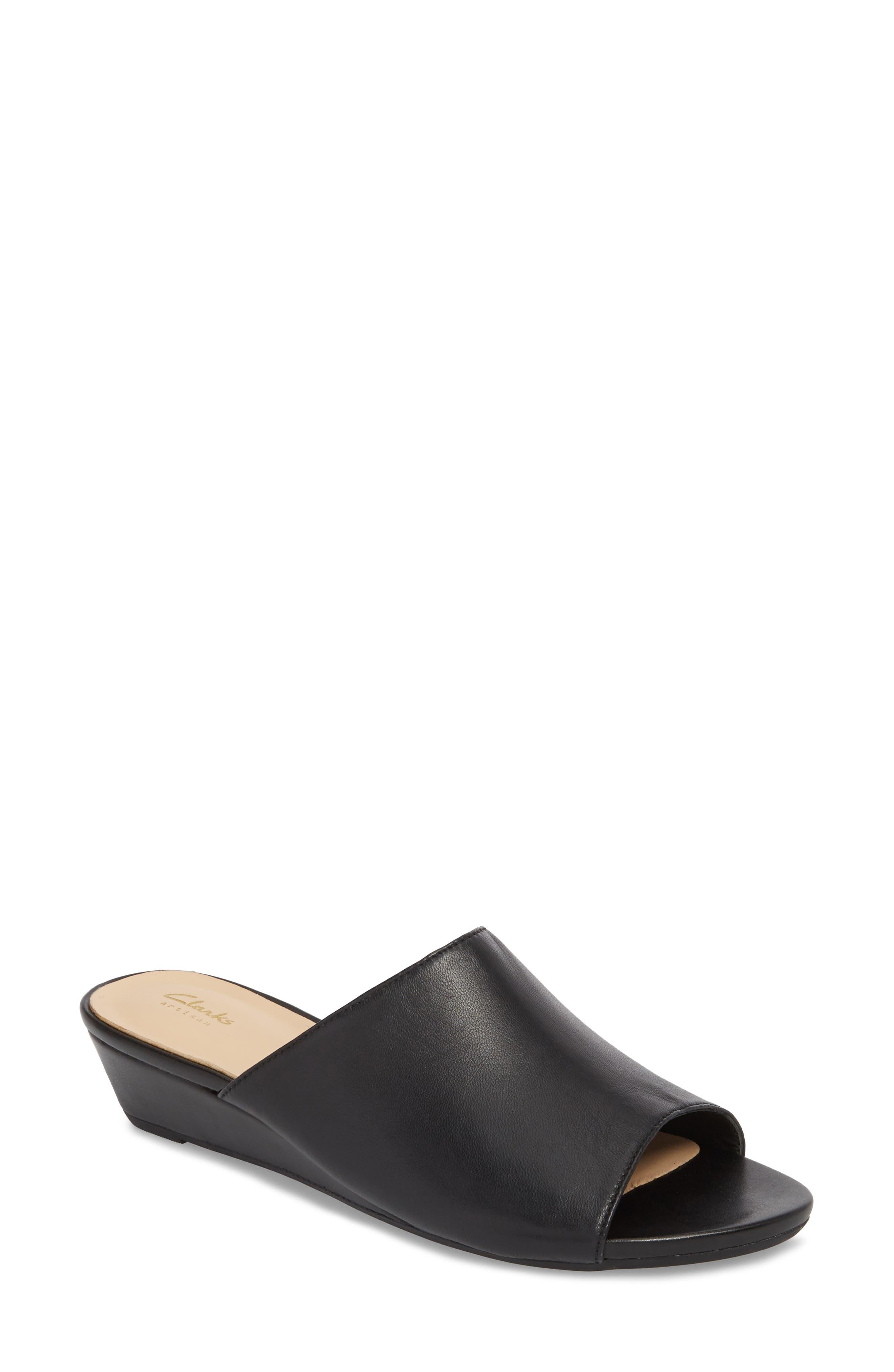 Clarks® Parram Waltz Slide Sandal (Women)