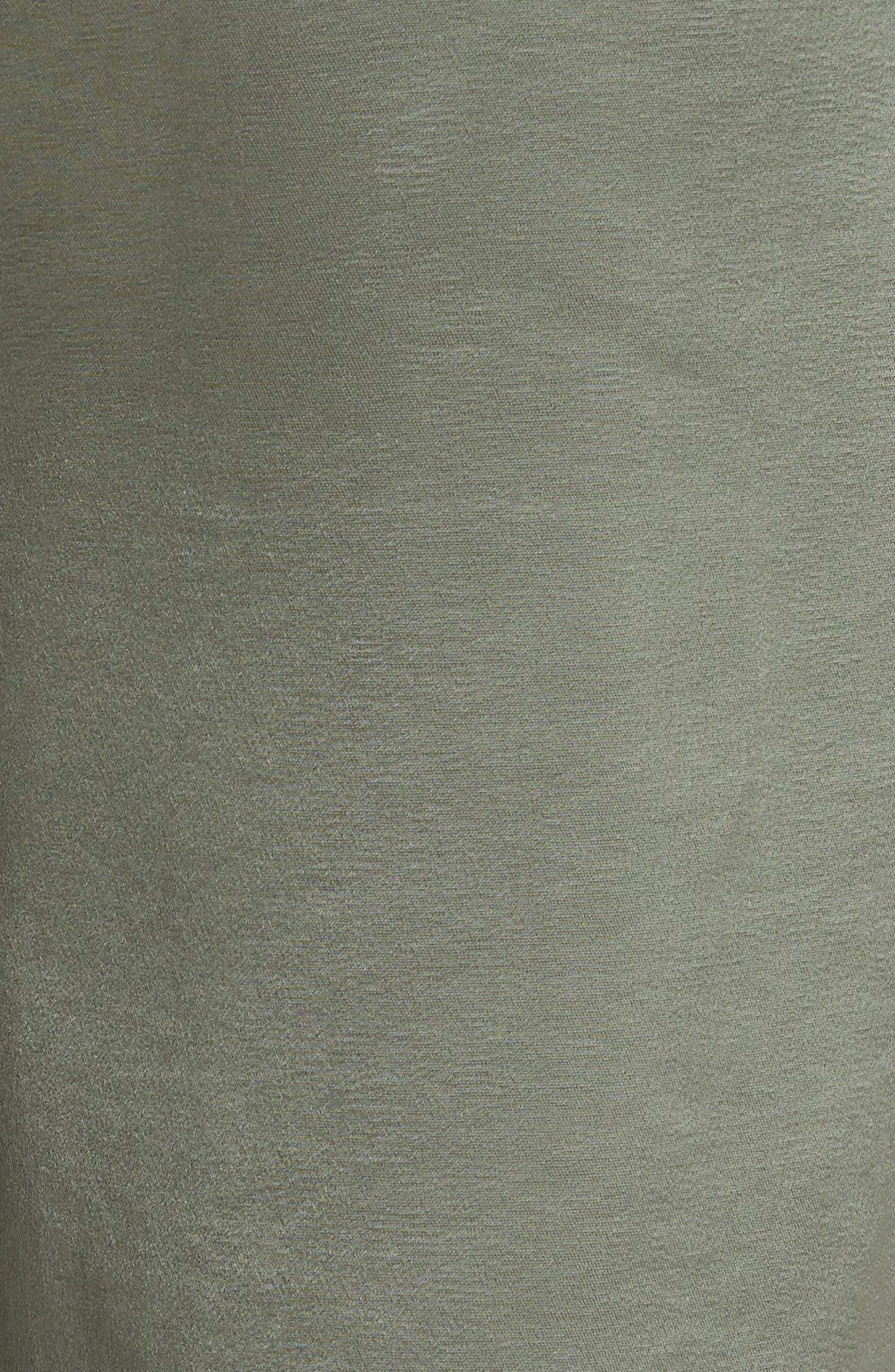 Nayarmi Paperbag Waist Jogger Pants,                             Alternate thumbnail 5, color,                             Khaki