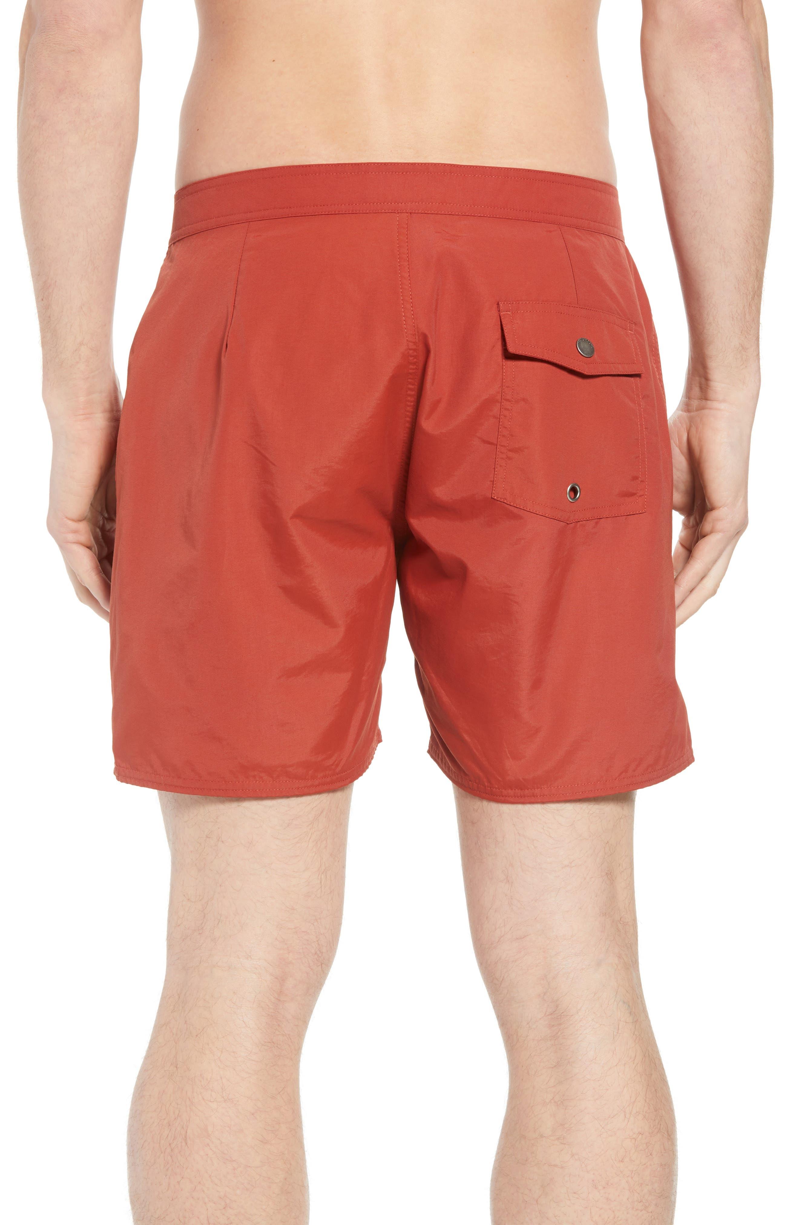 Colin Board Shorts,                             Alternate thumbnail 2, color,                             Brick