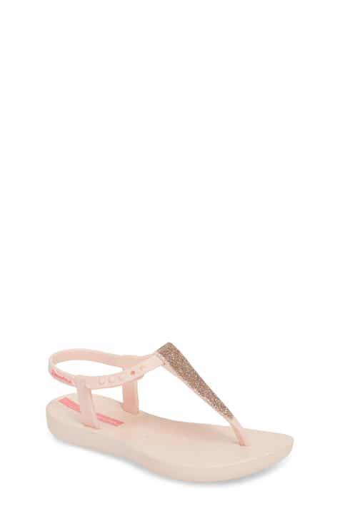 dbd44349b Ipanema Shimmer T-Strap Sandal (Toddler