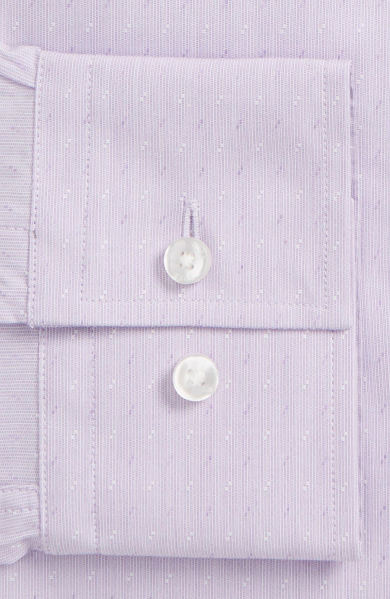 Jenno Slim Fit Dress Shirt,                             Alternate thumbnail 2, color,                             Light Purple