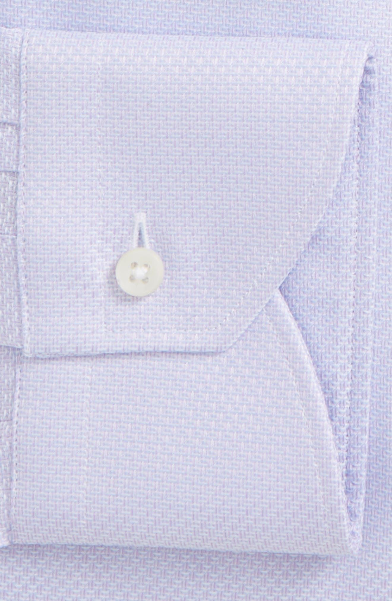 Regular Fit Dress Shirt,                             Alternate thumbnail 5, color,                             Light Purple
